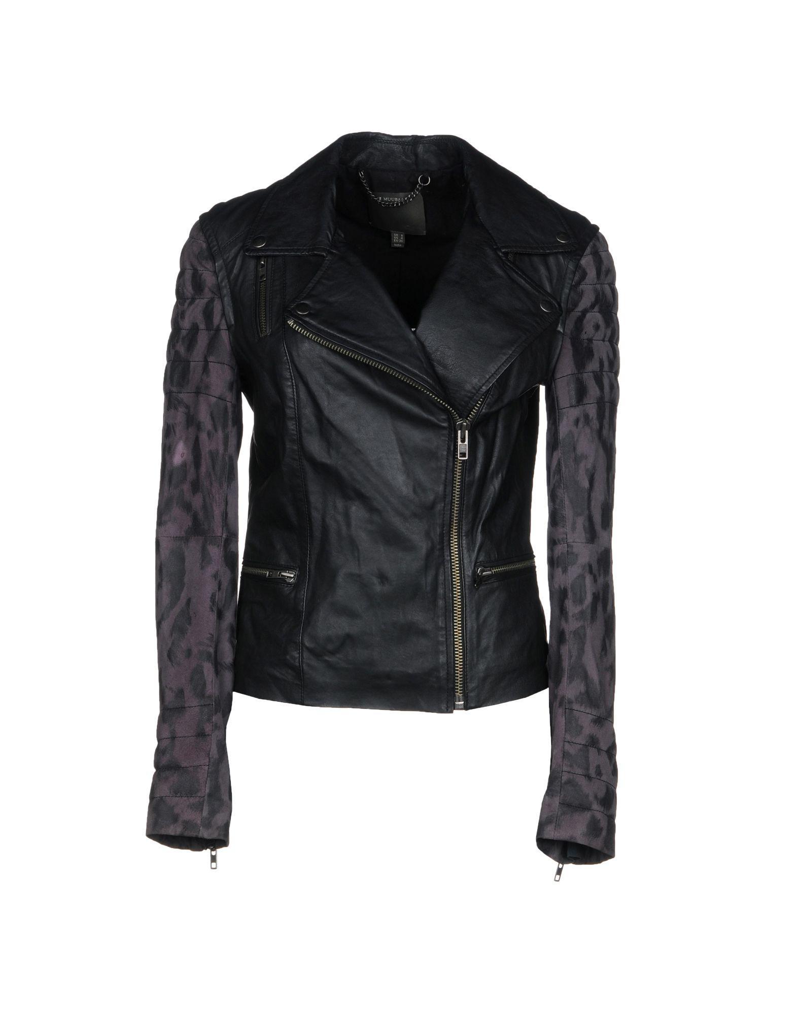 Muubaa Jackets In Black