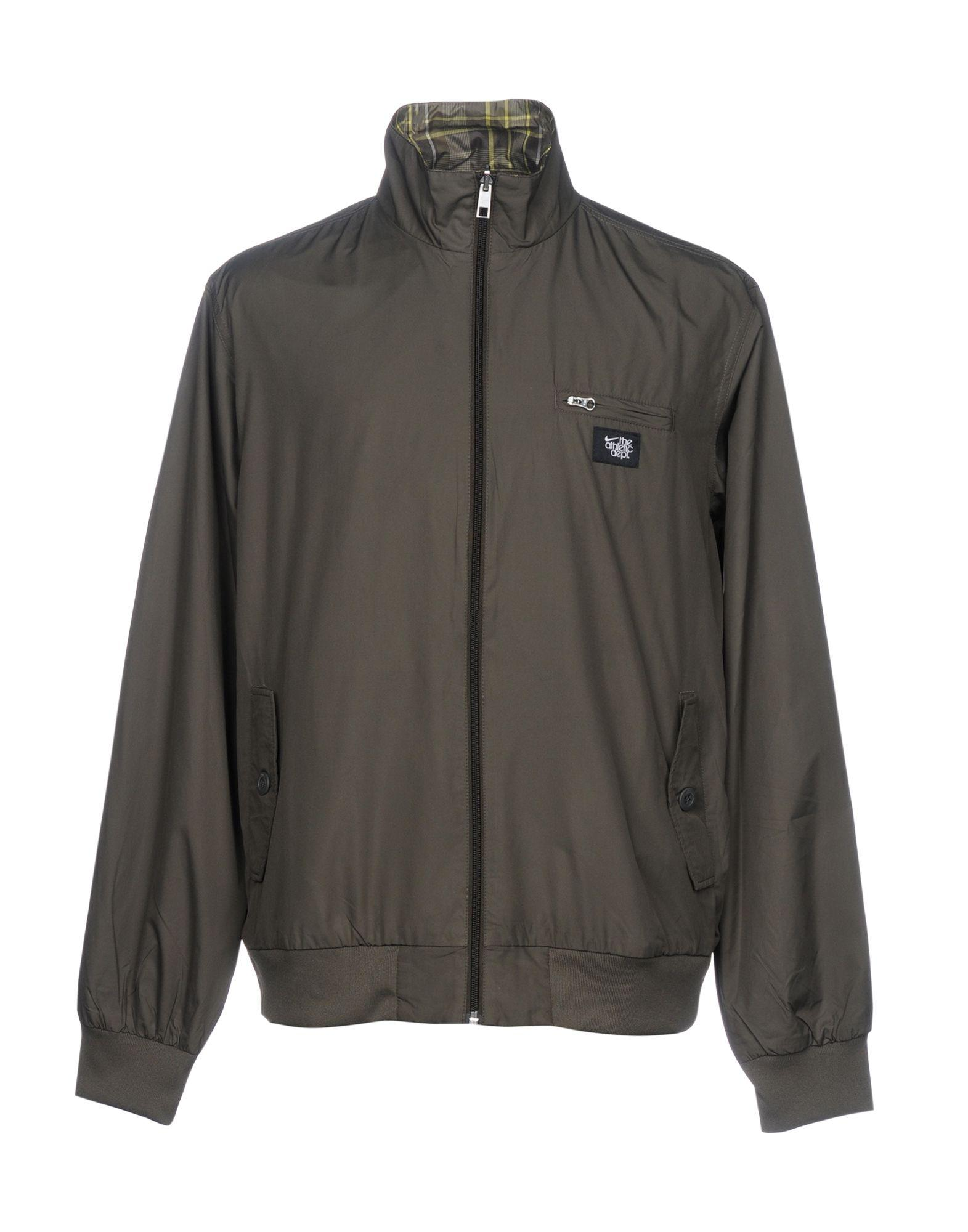 Nike Jackets In Military Green