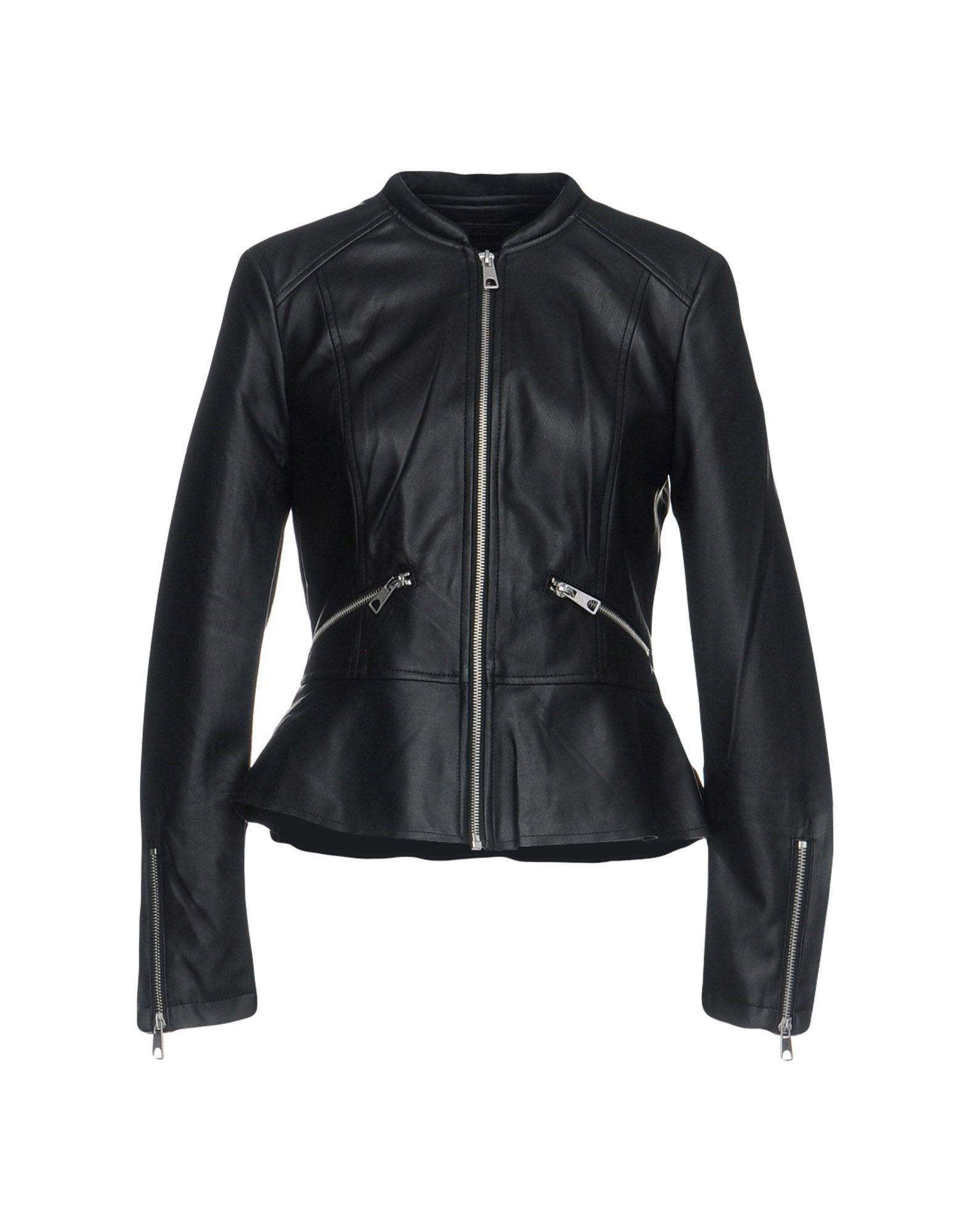 Vero Moda Biker Jacket In Black
