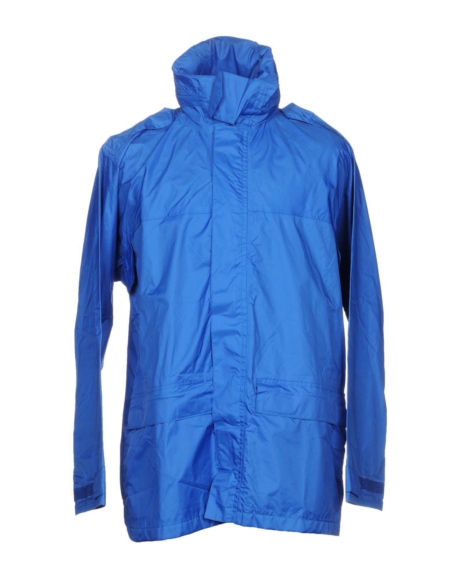 Aspesi Jacket In Azure
