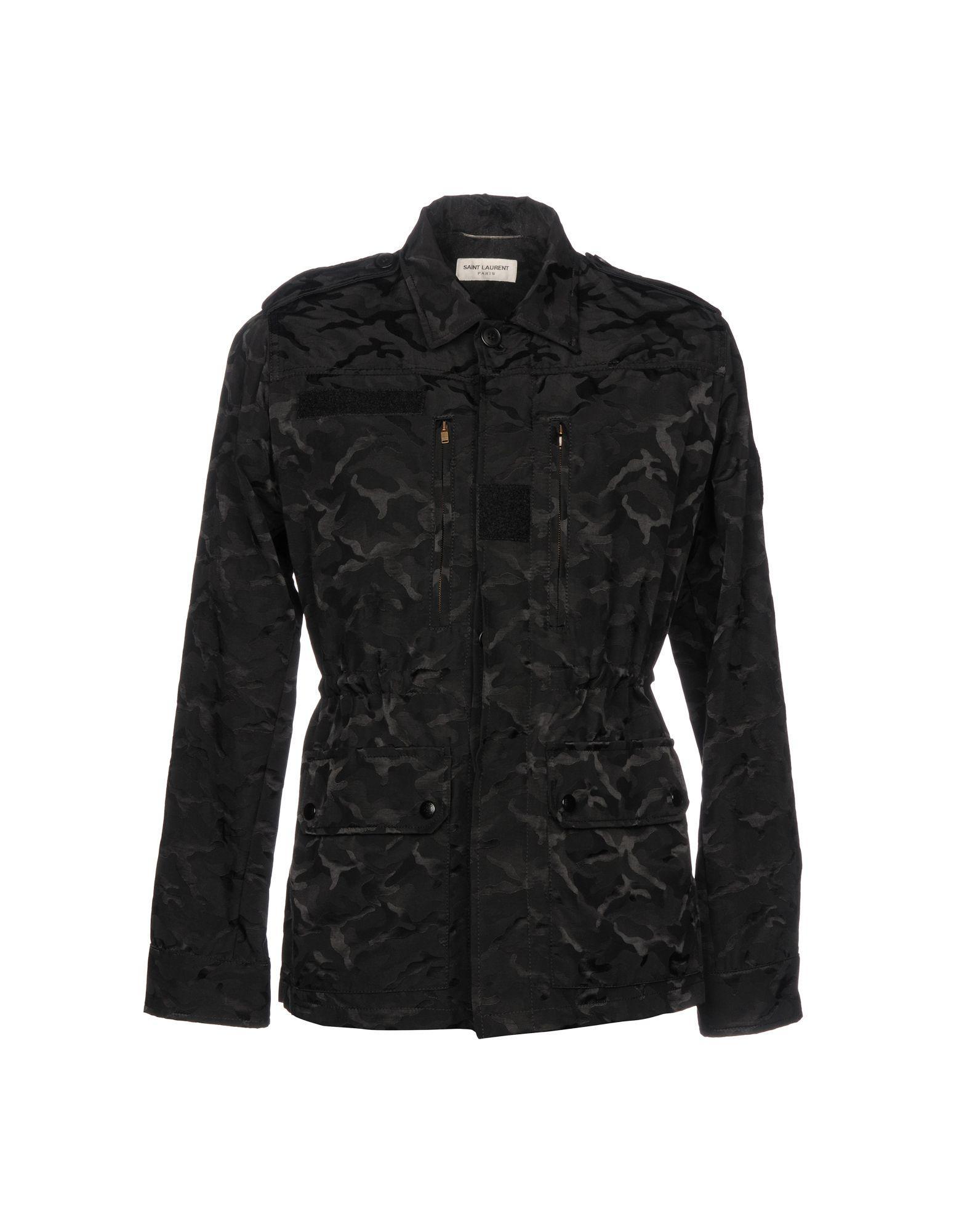 Saint Laurent In Black
