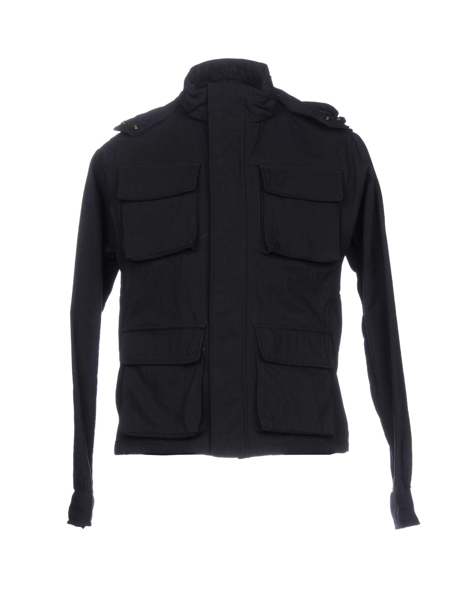 Aspesi Jacket In Dark Blue