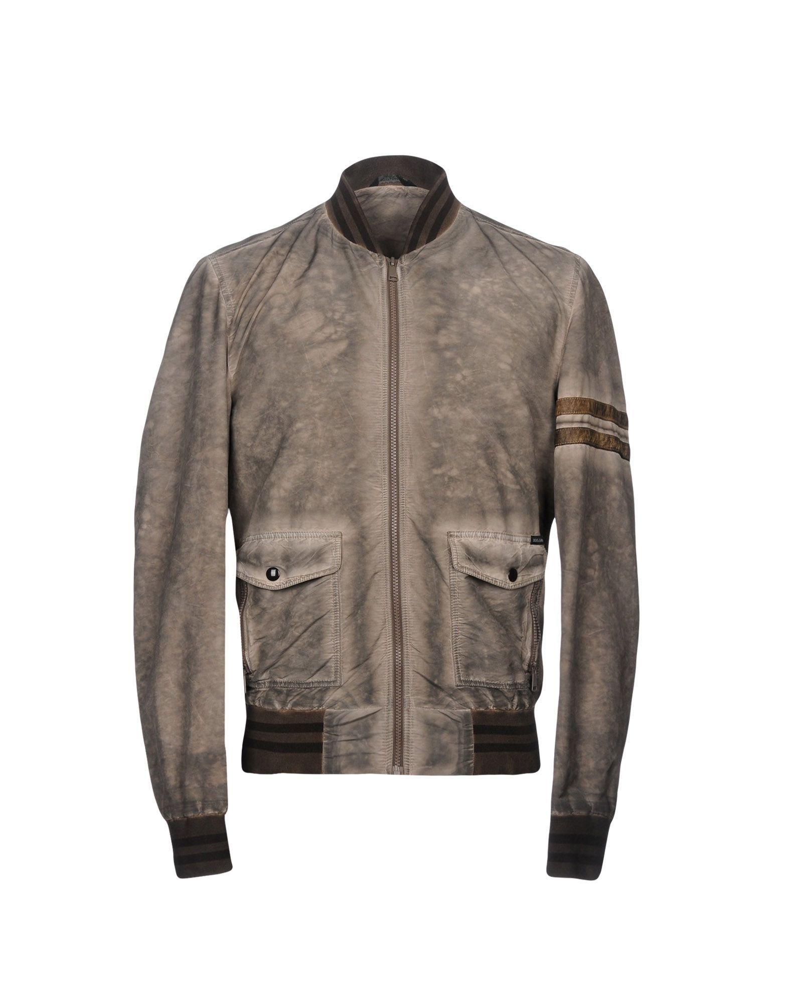 Dolce & Gabbana Jackets In Grey