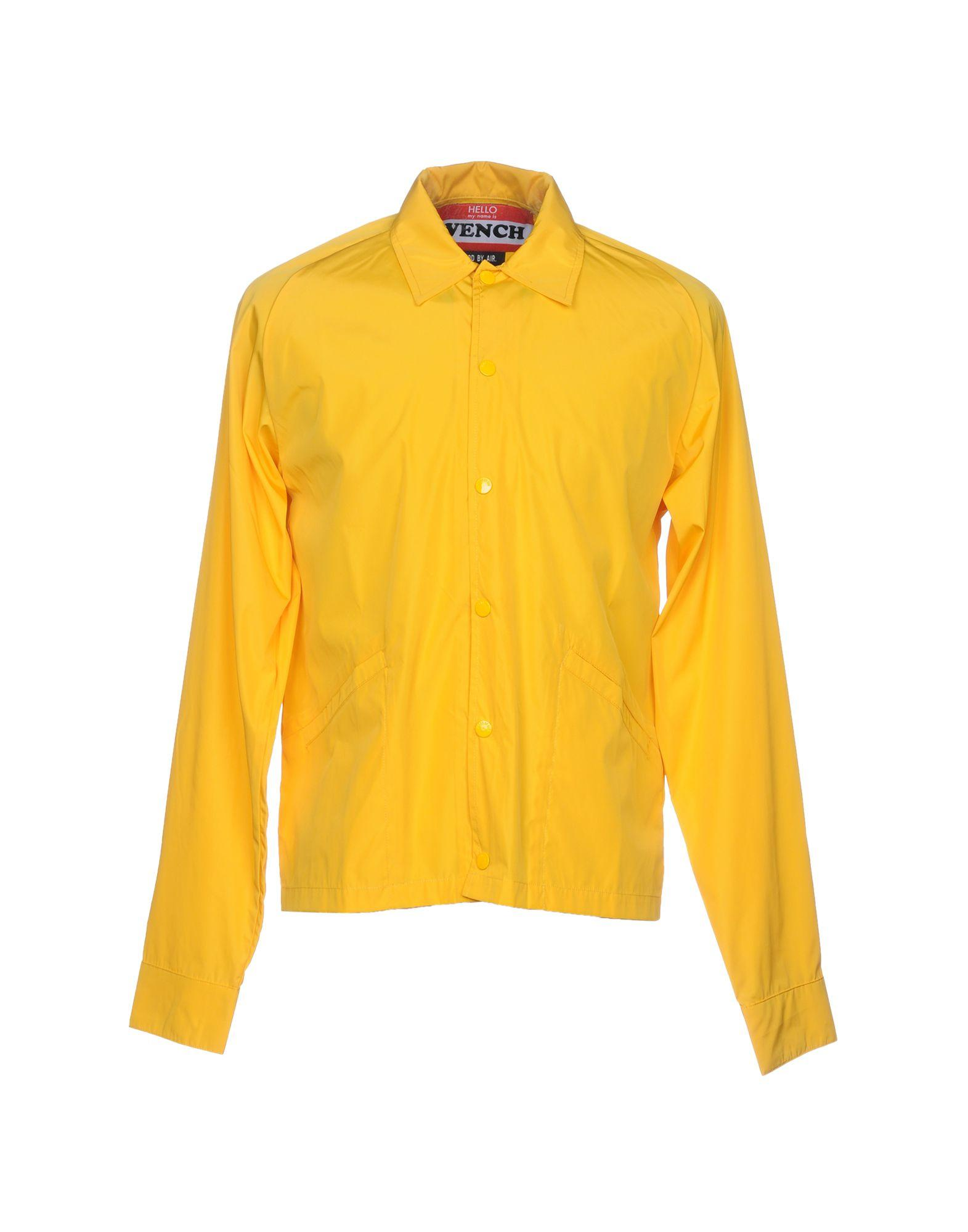 Hood By Air Jackets In Yellow