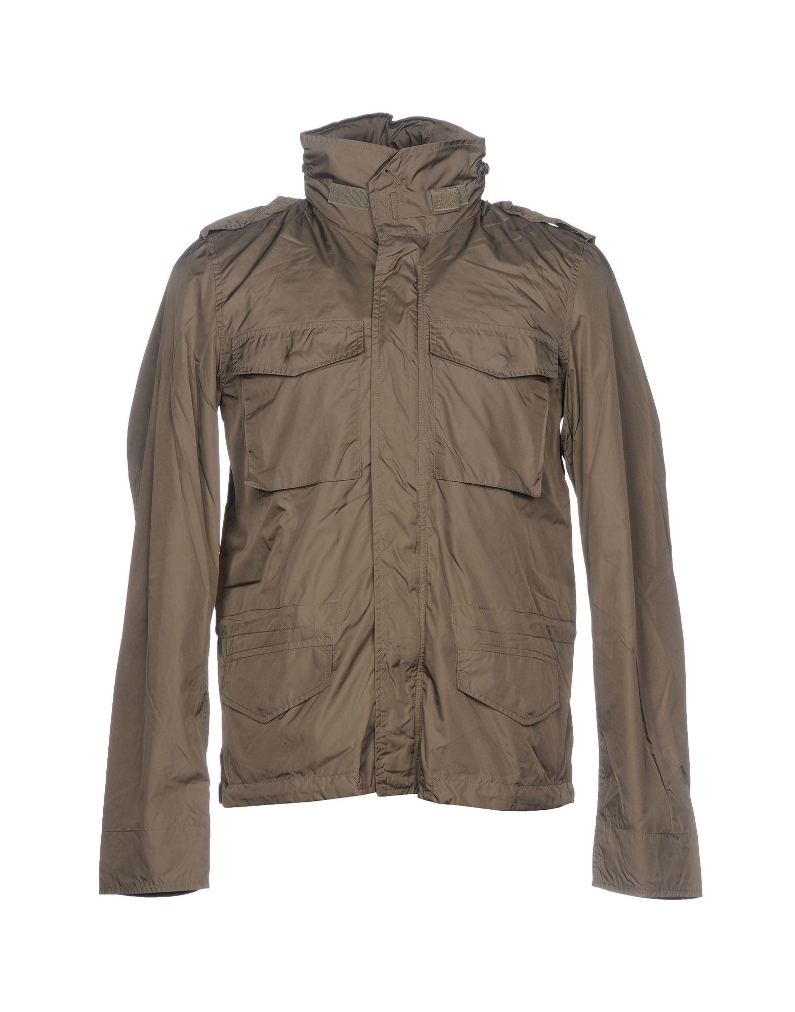 Aspesi Jackets In Khaki