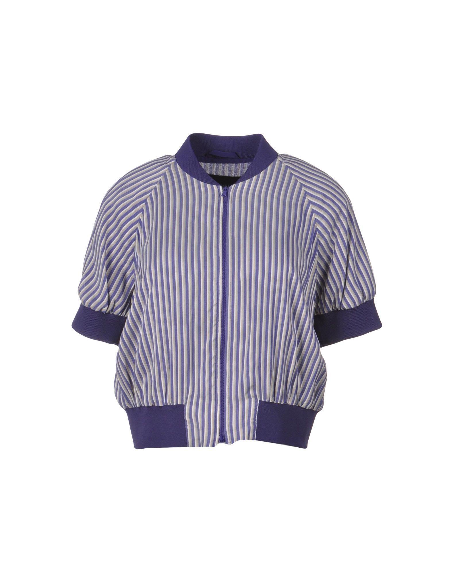 Emporio Armani Jackets In Purple