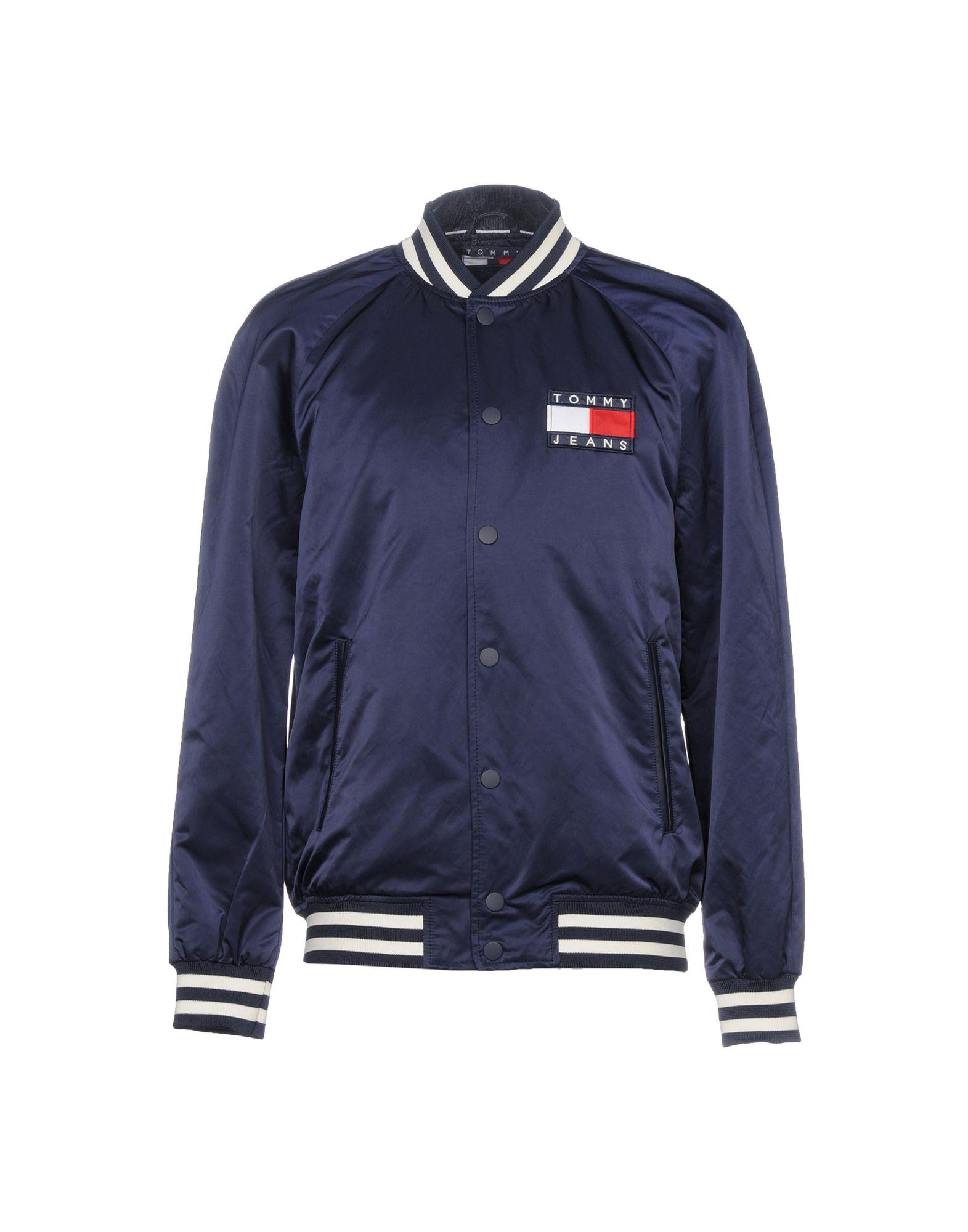 Tommy Jeans Bomber In Dark Blue