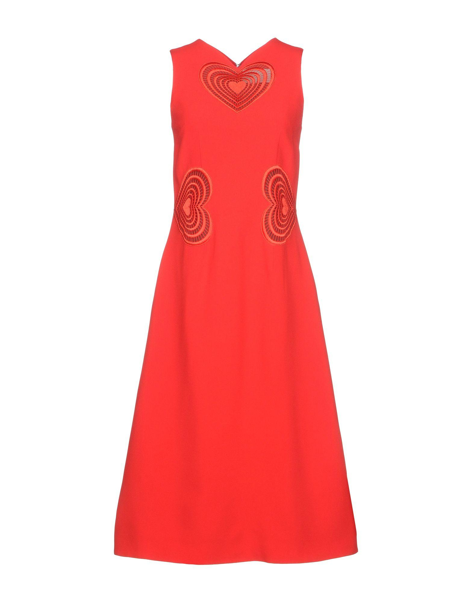 Christopher Kane 3/4 Length Dresses In Red