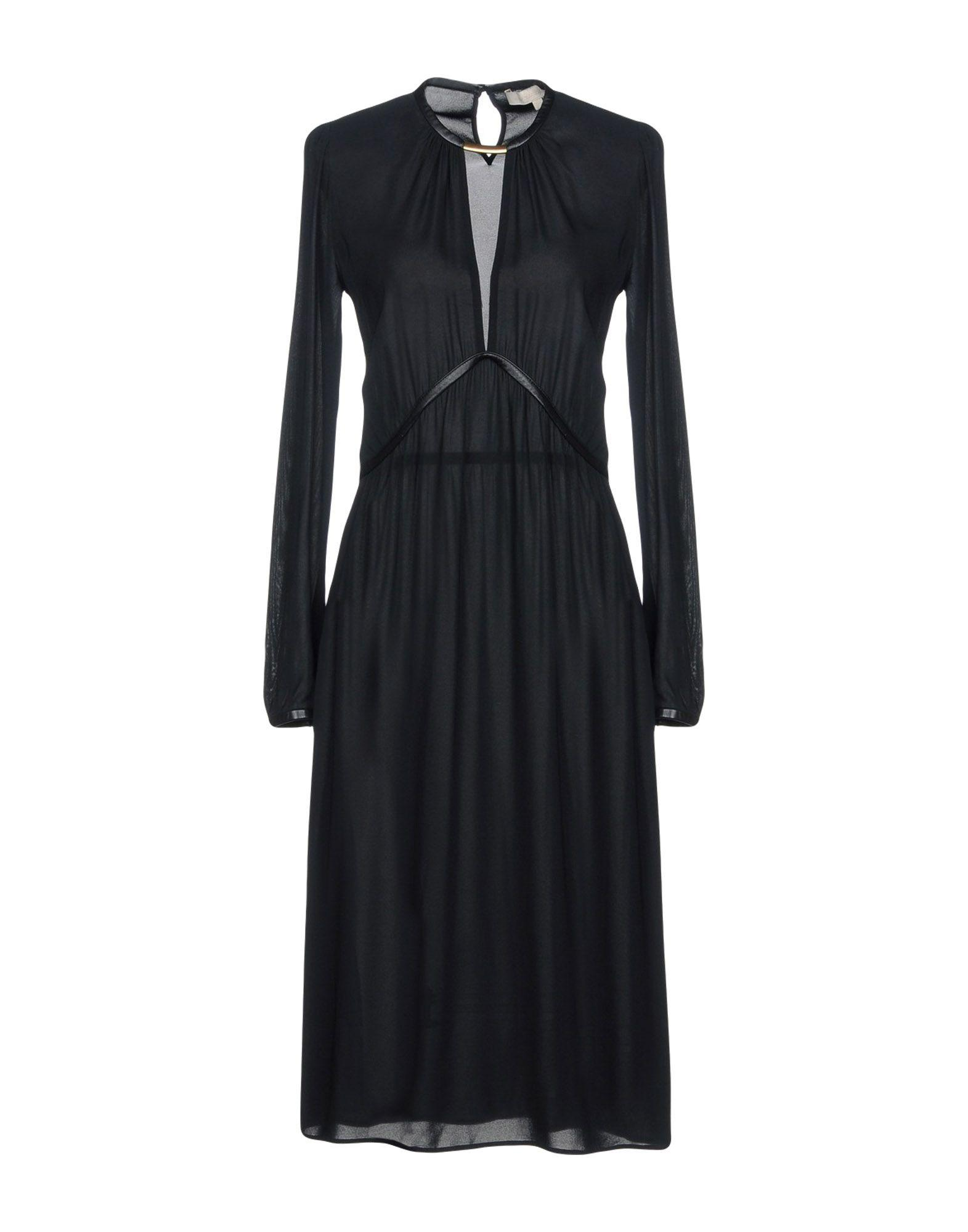 Vanessa Bruno 3/4 Length Dresses In Black