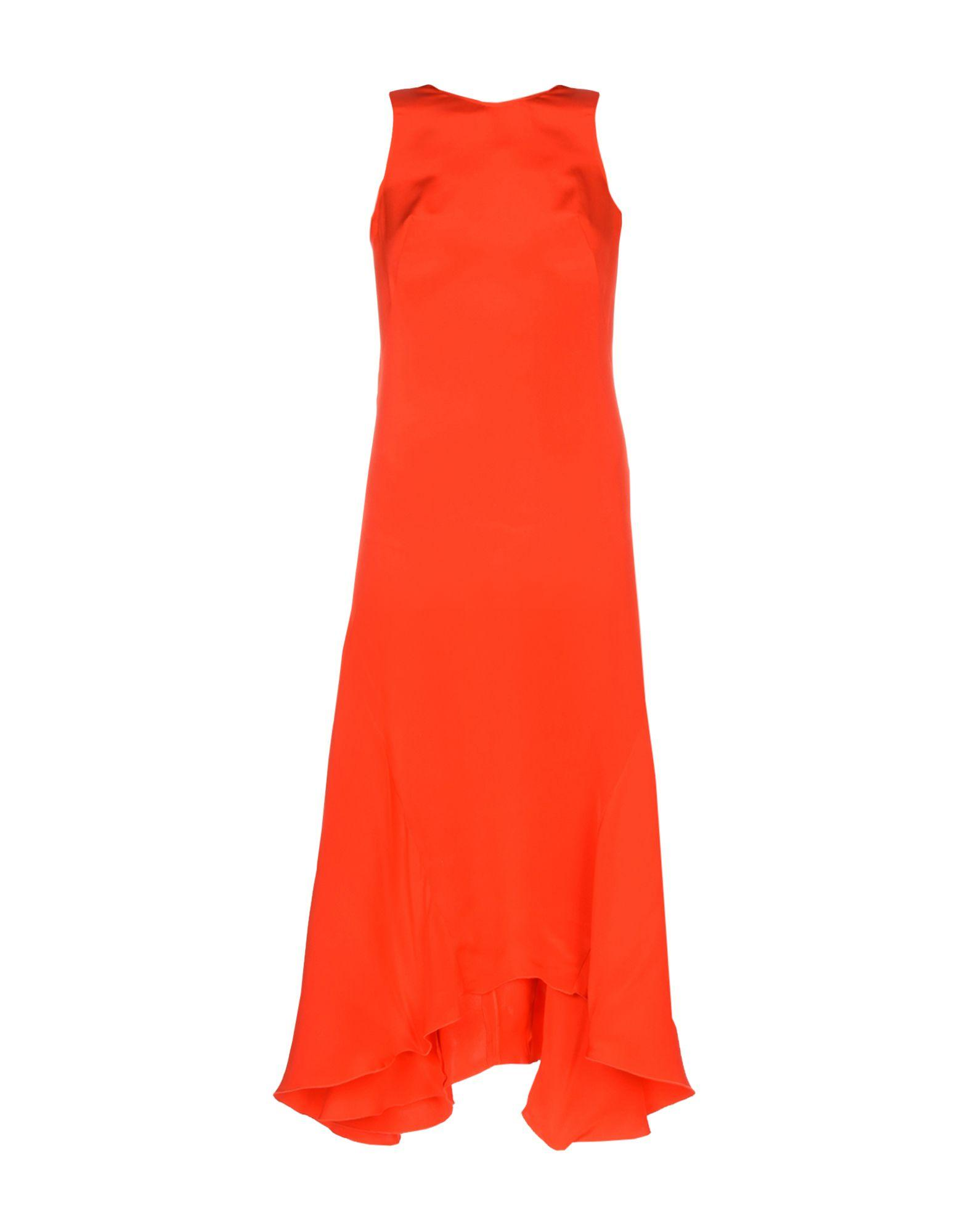 Cedric Charlier 3/4 Length Dresses In Red
