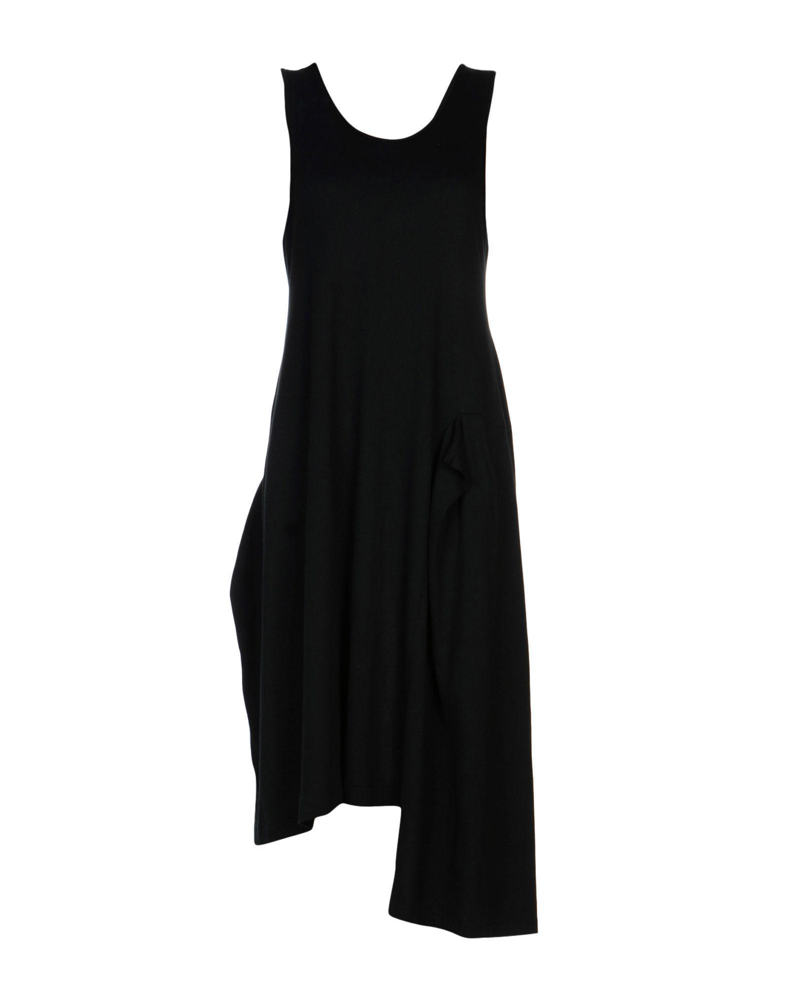 Y's 3/4 Length Dresses In Black
