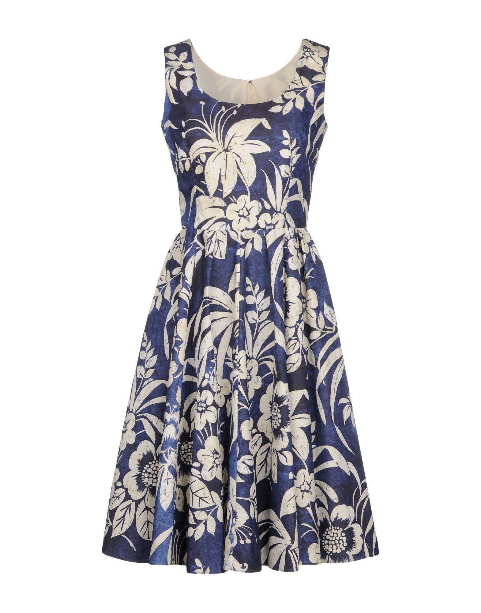 Dolce & Gabbana Knee-length Dresses In Blue