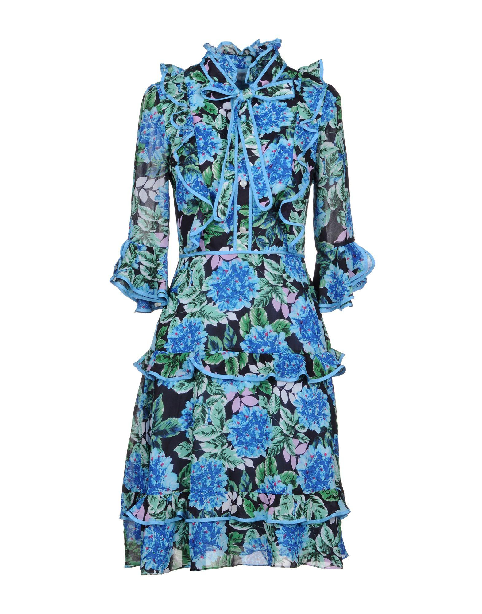 Mikael Aghal Knee-length Dresses In Azure