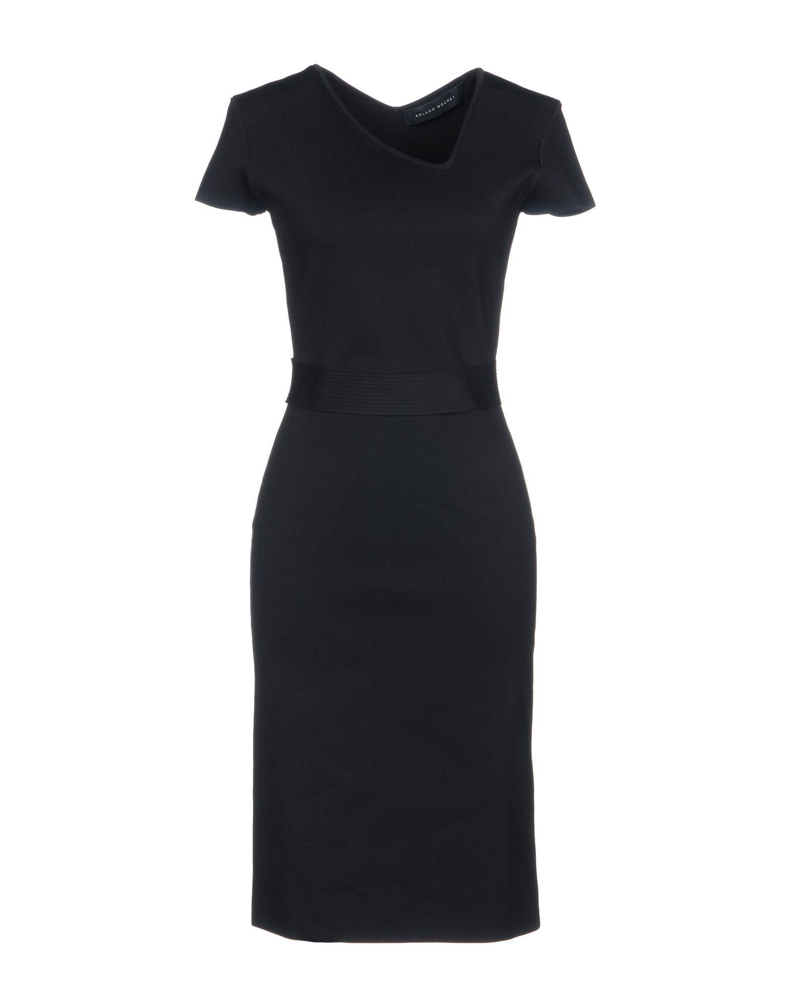Roland Mouret Knee-length Dress In Black