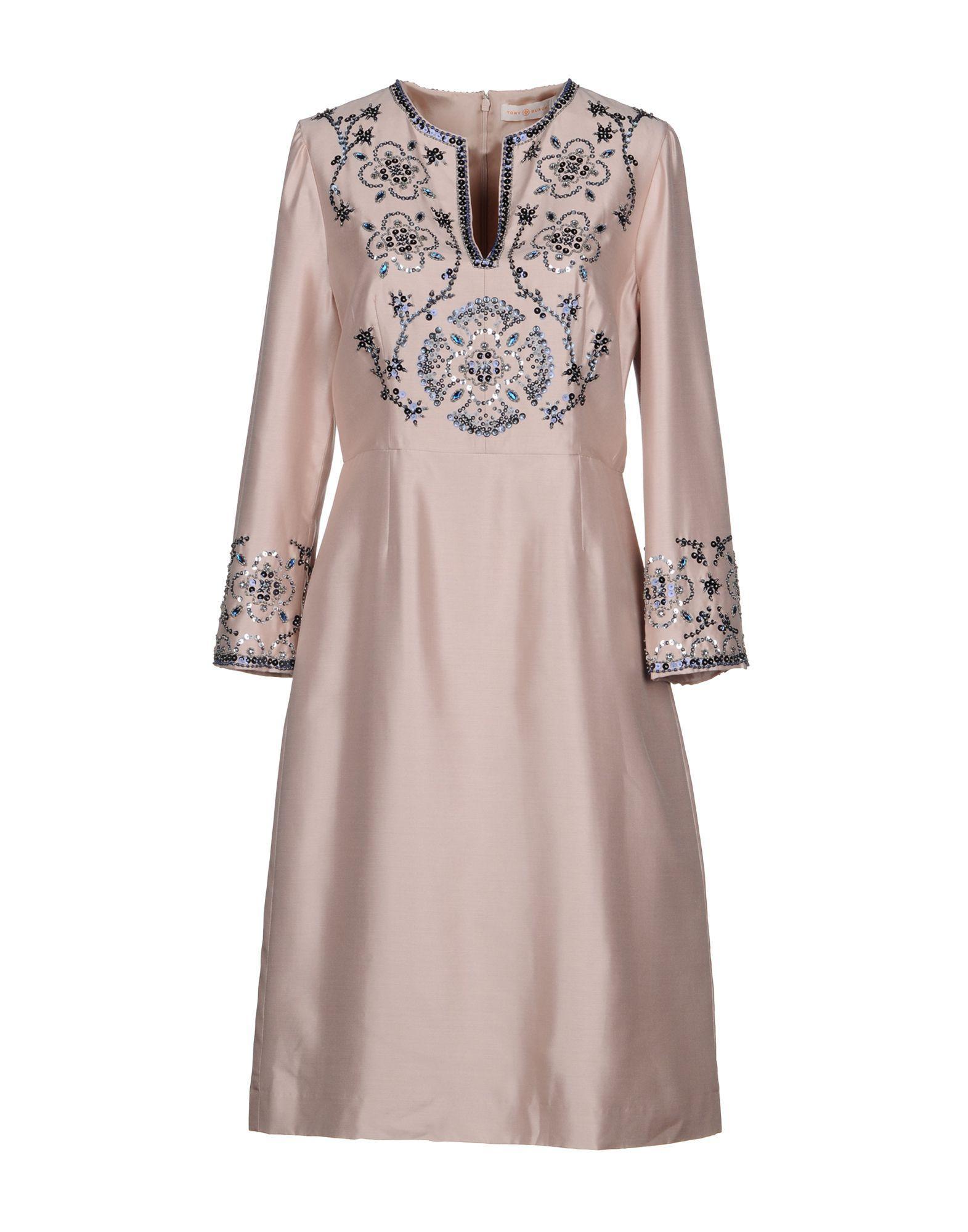 Tory Burch Formal Dress In Pink