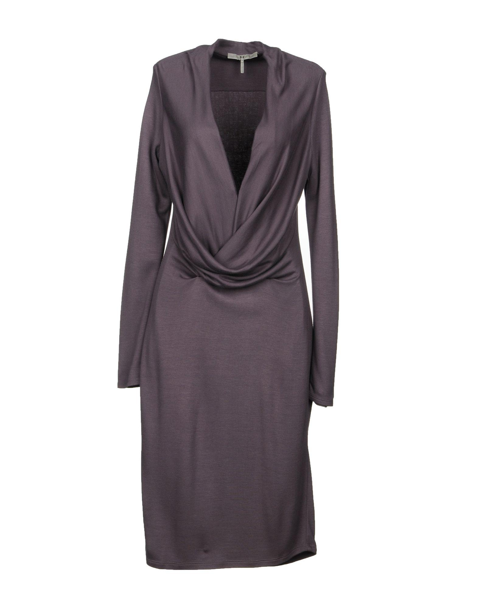 Halston Heritage Knee-length Dresses In Mauve