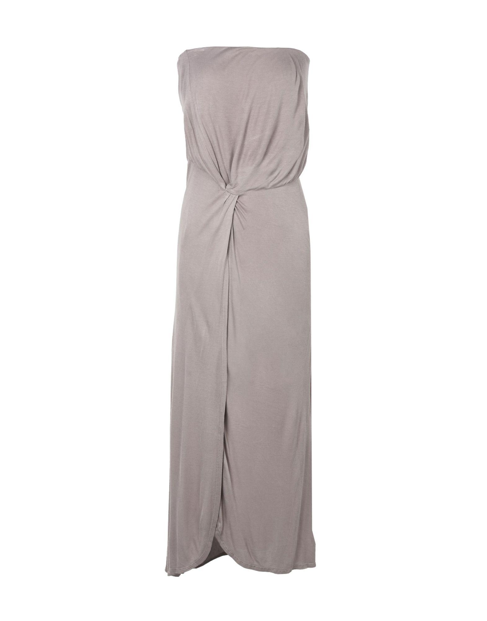 Halston Heritage Knee-length Dresses In Dove Grey
