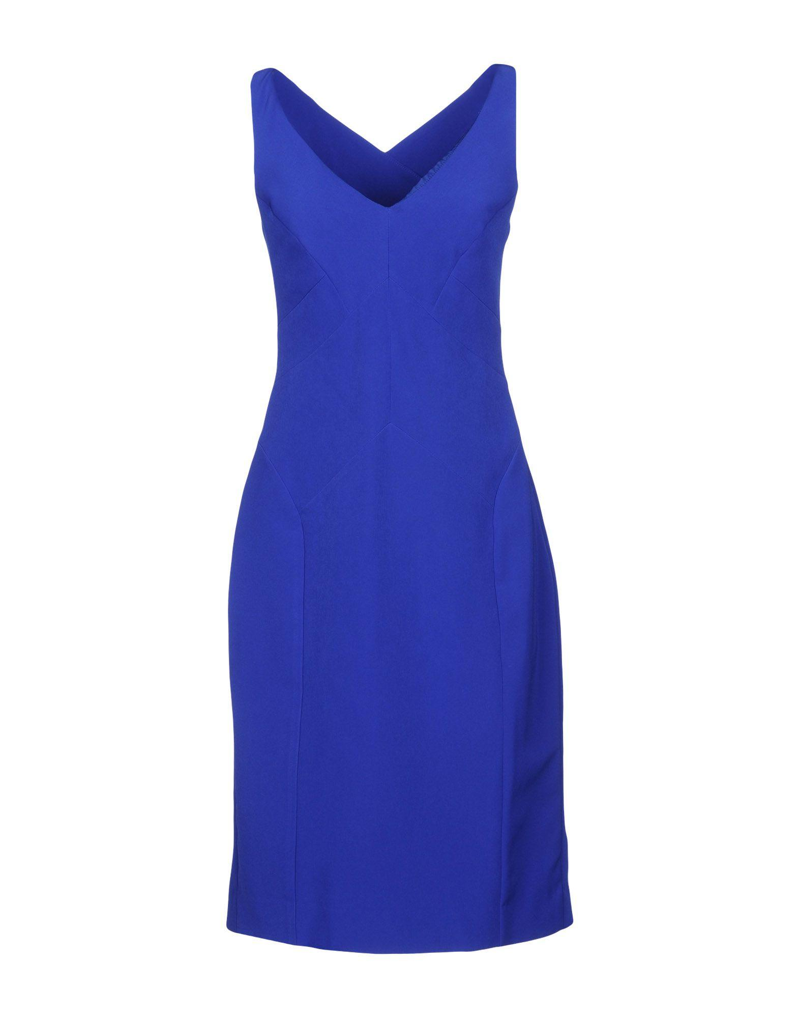 Milly Knee-length Dresses In Bright Blue