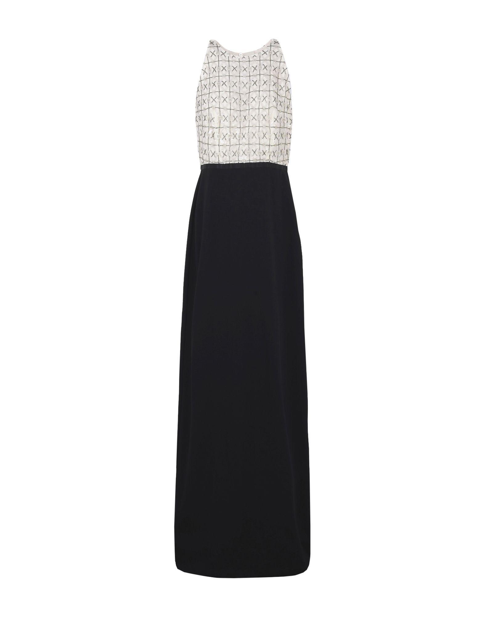 Raoul Long Dress In Black
