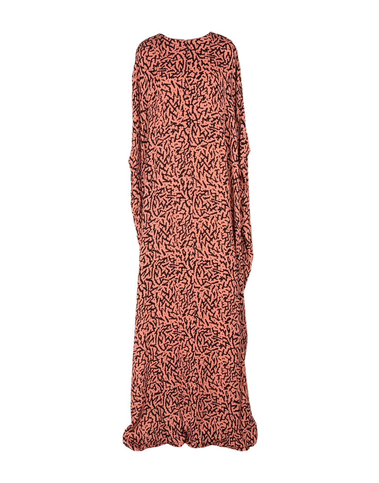 Issa Formal Dress In Salmon Pink