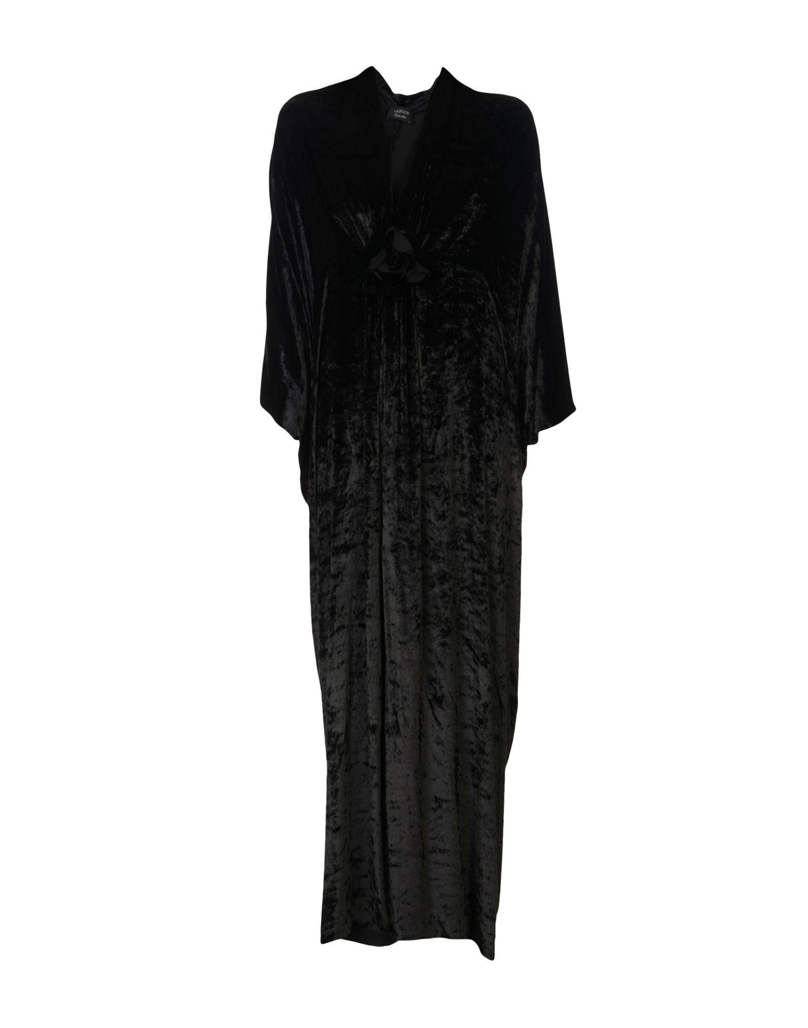 Lanvin Long Dresses In Black