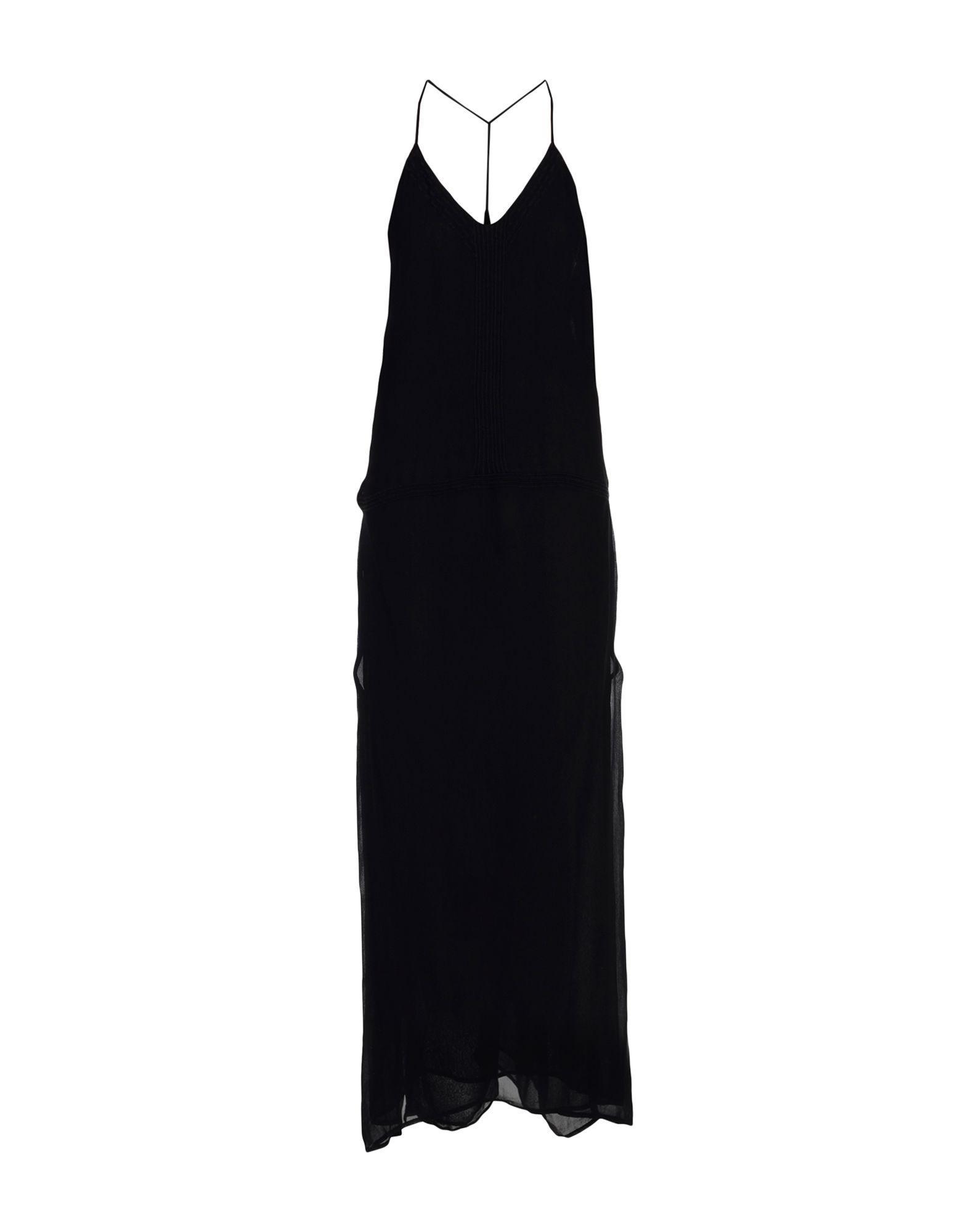 Iro Long Dresses In Black