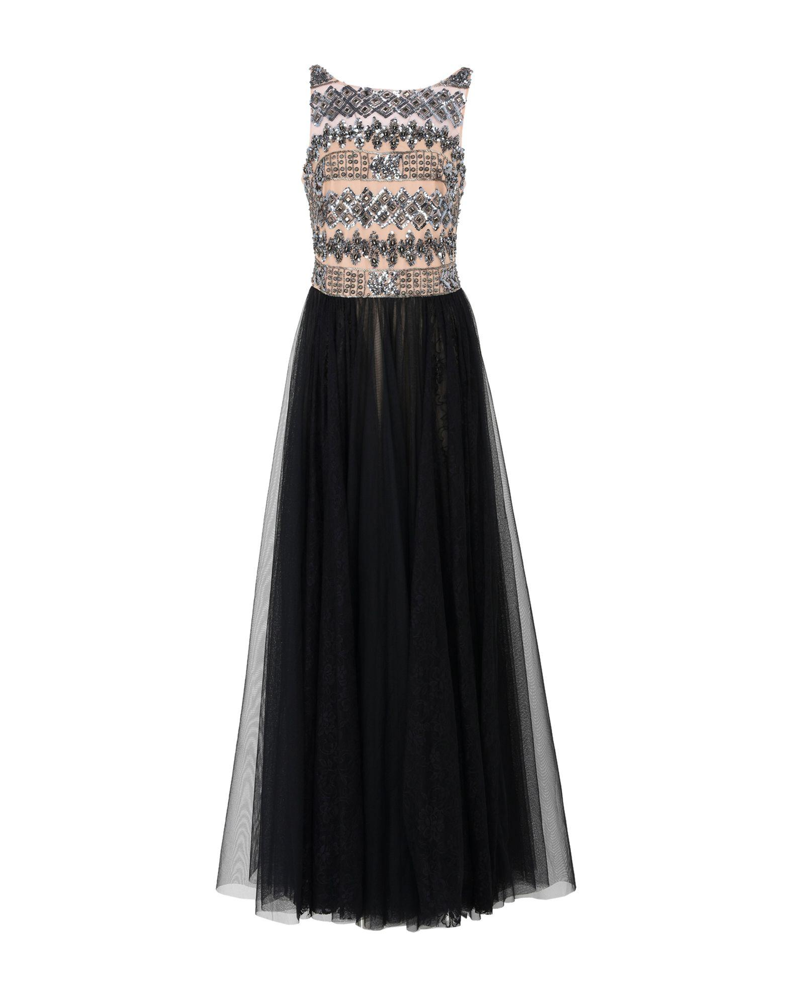 Mikael Aghal Long Dress In Black
