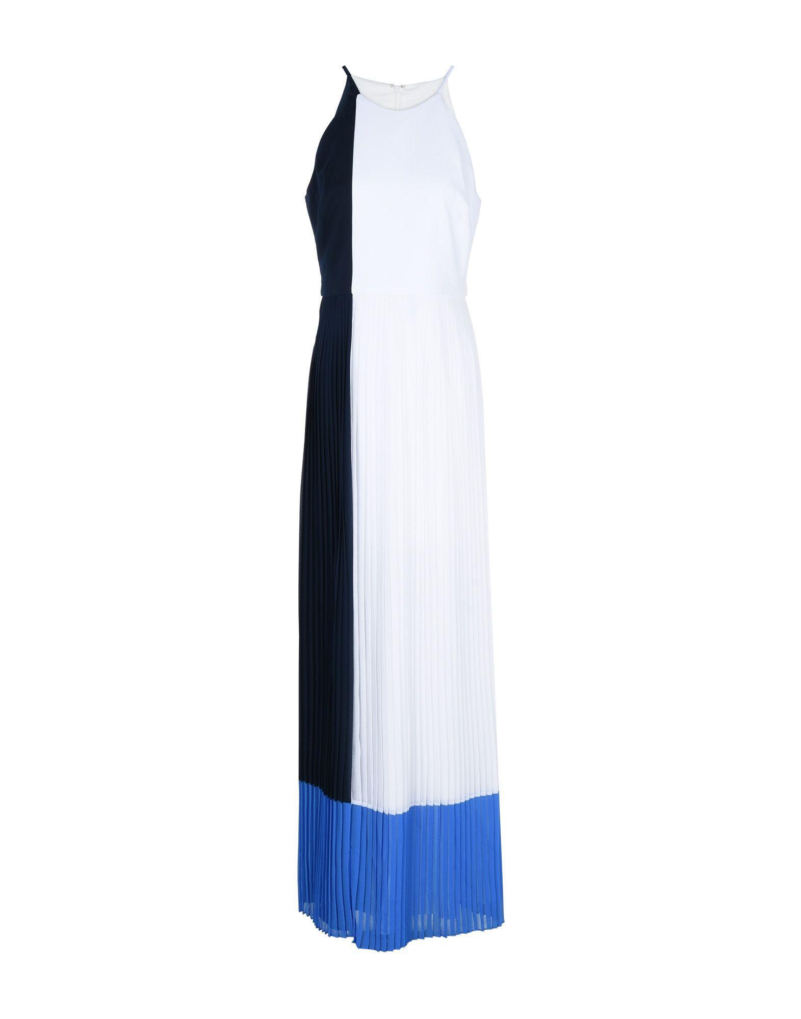 Badgley Mischka Long Dresses In White