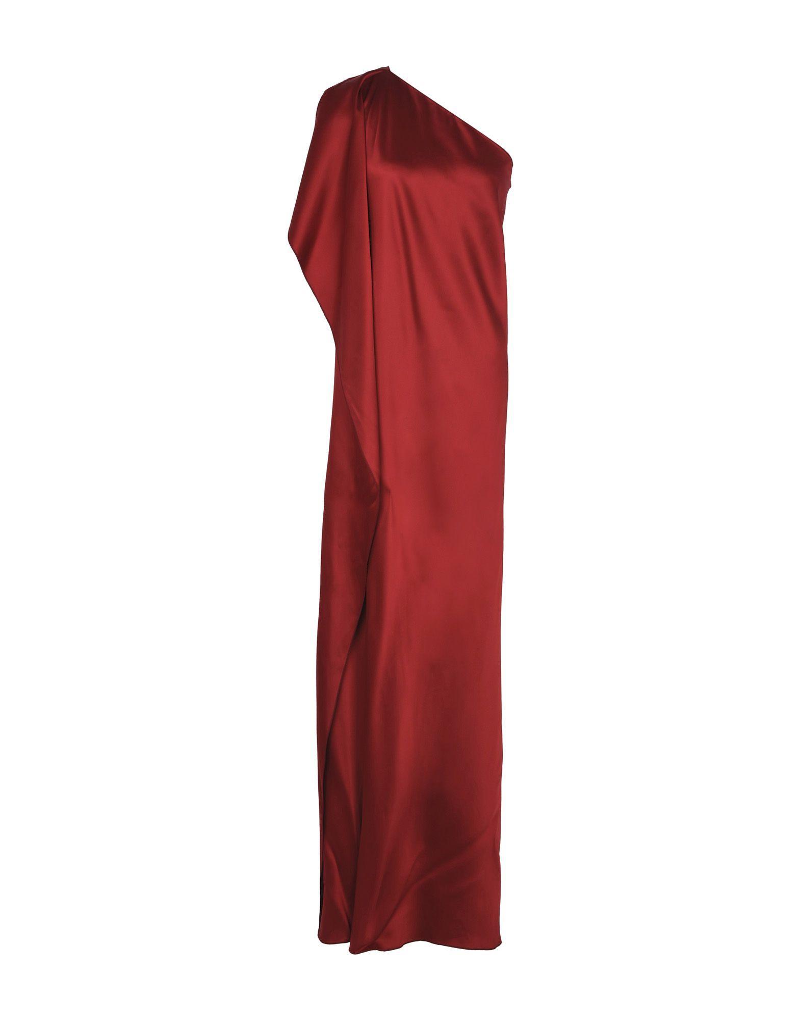 Maison Rabih Kayrouz Long Dress In Maroon