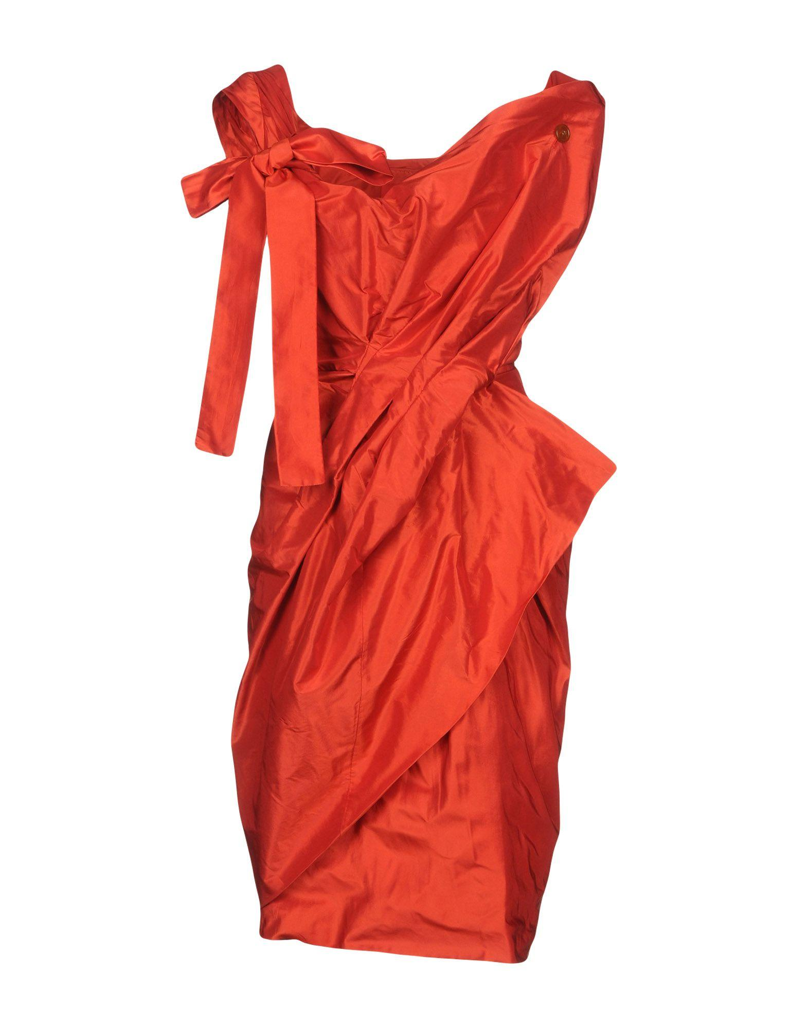 Vivienne Westwood Red Label Short Dresses In Red
