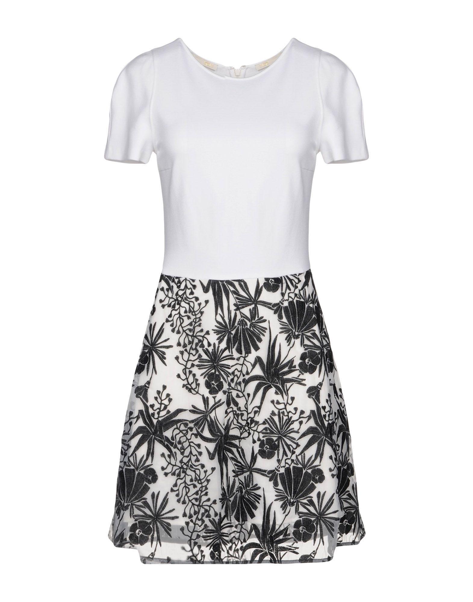 Maje Short Dresses In White