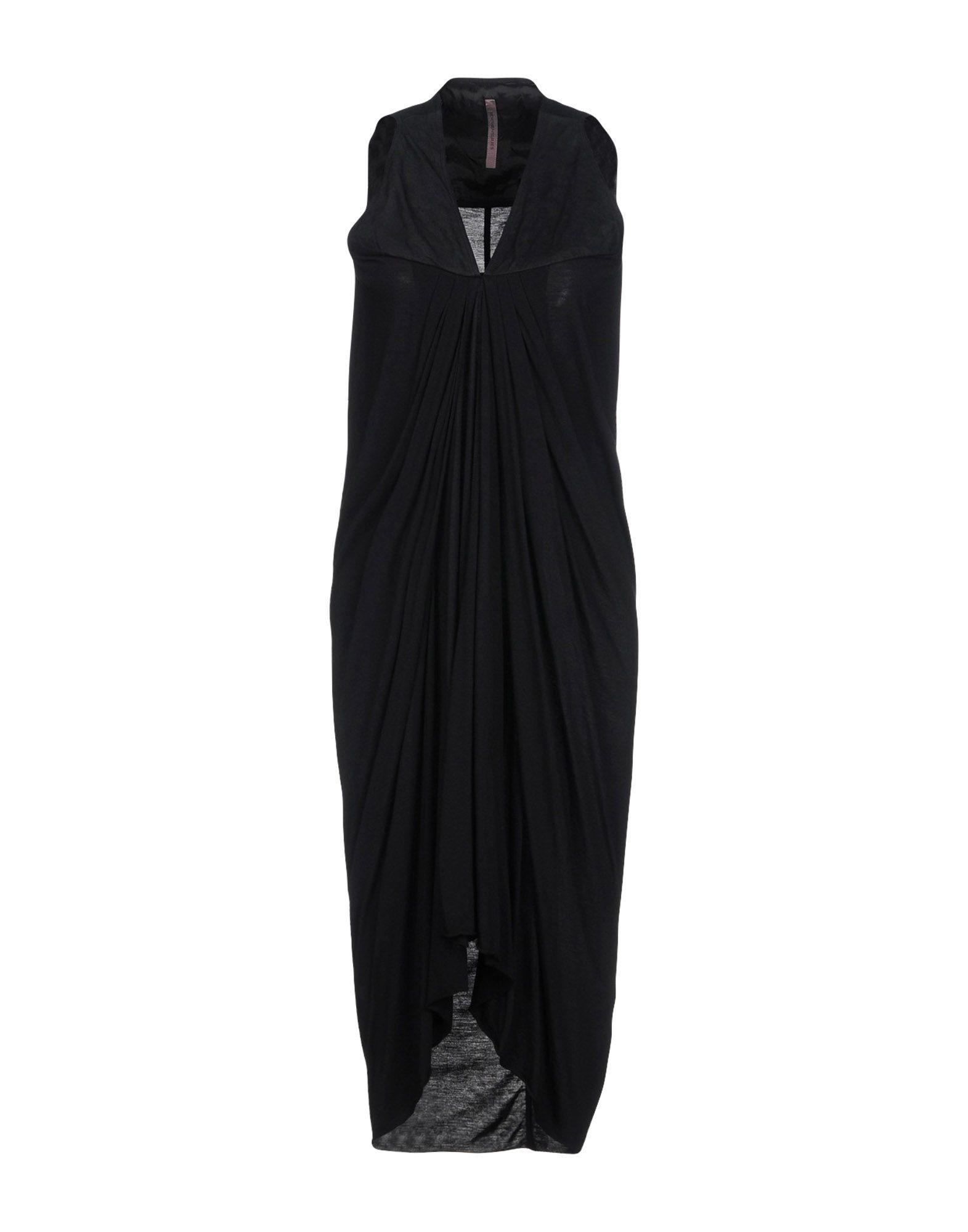 Rick Owens Short Dresses In Black