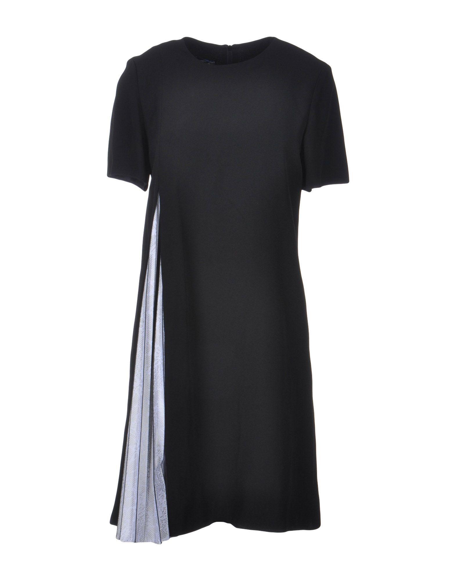 Emporio Armani Short Dress In Black