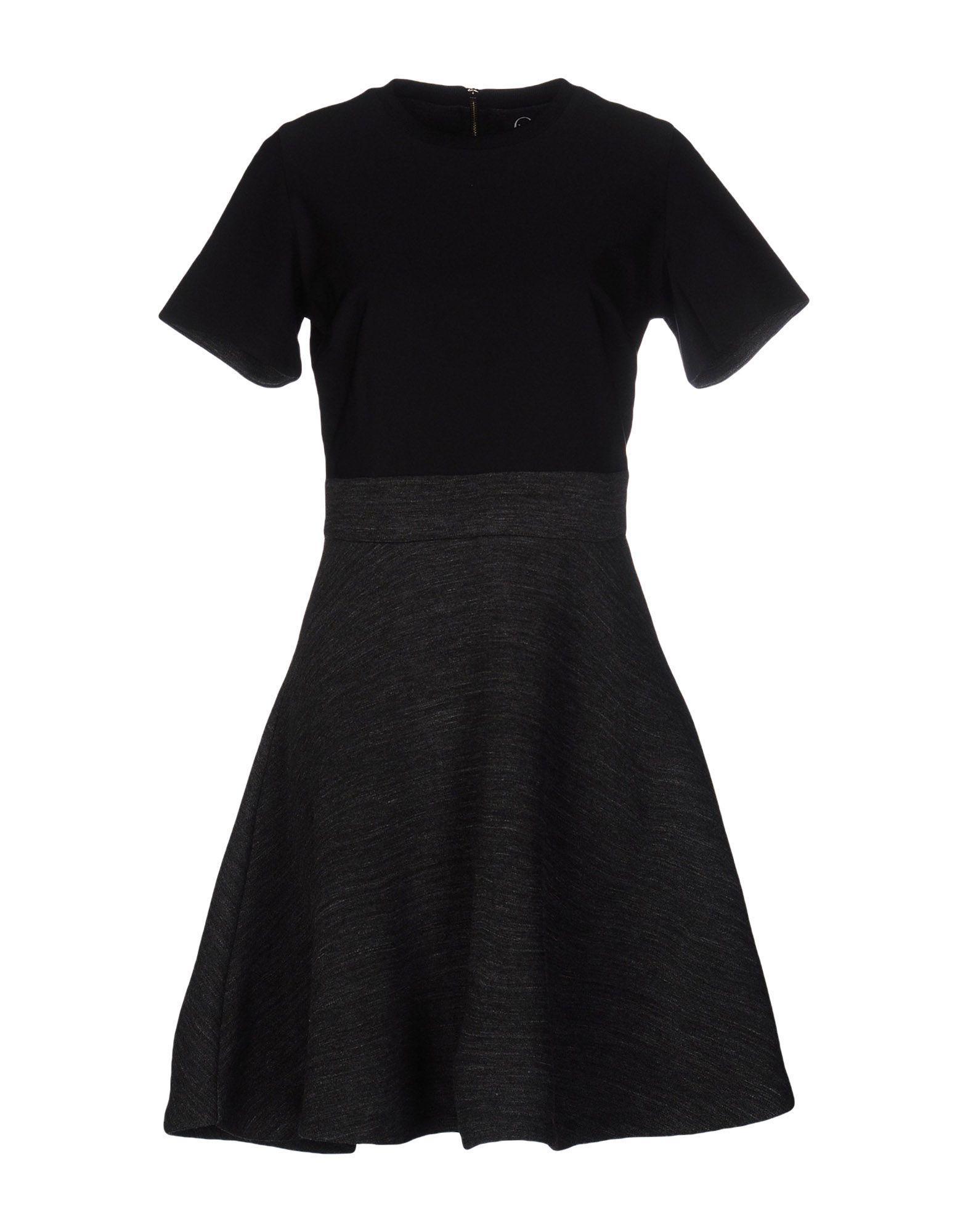 Mcq By Alexander Mcqueen Short Dress In Black