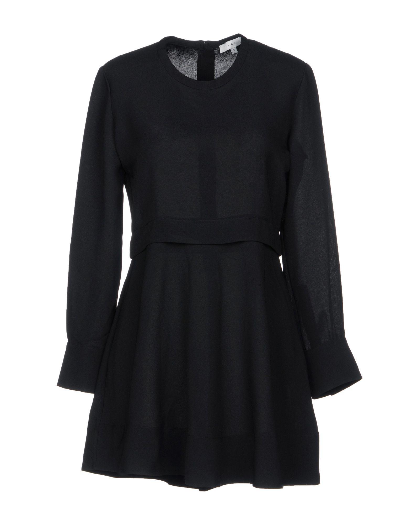 Iro Short Dresses In Black