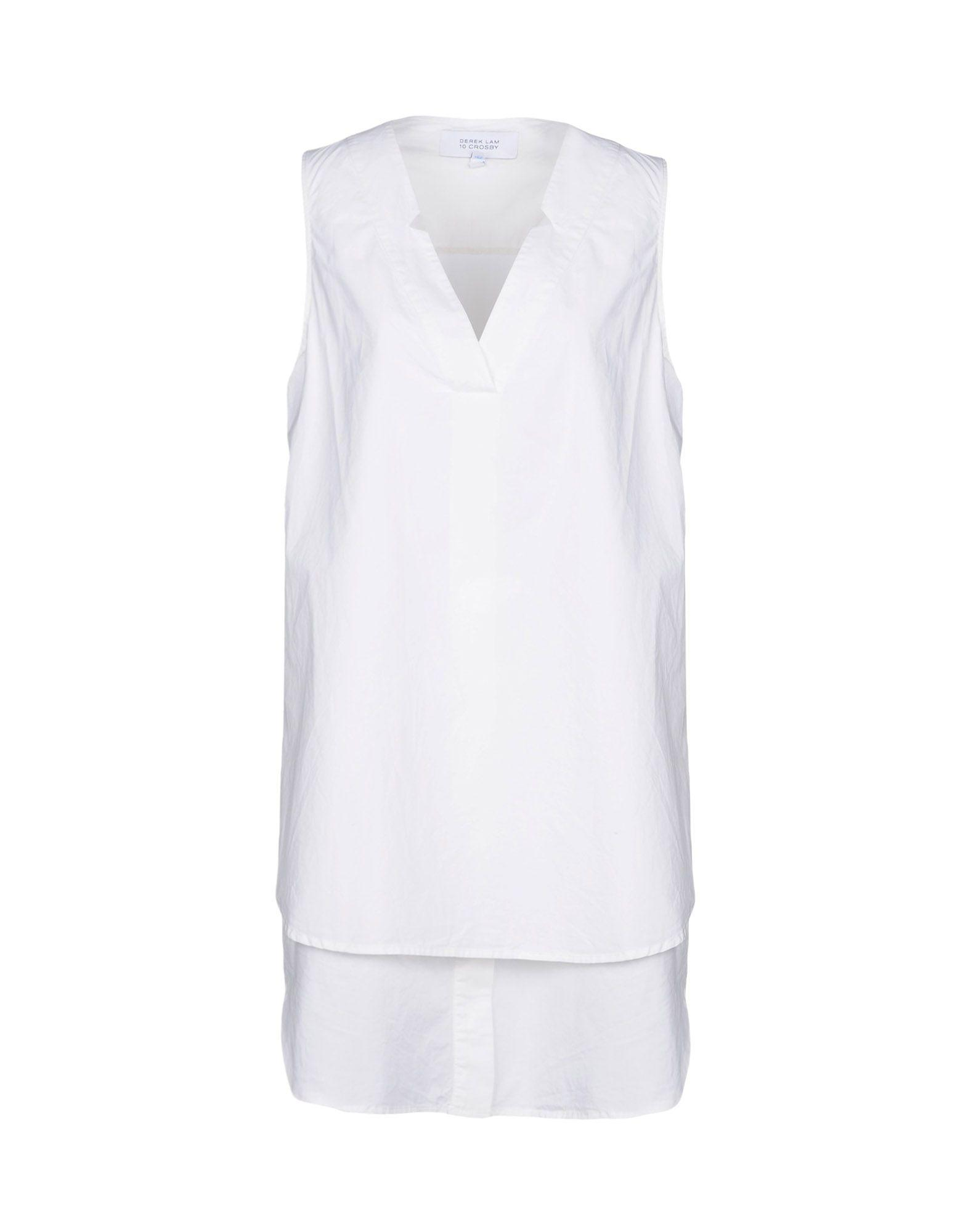 Derek Lam 10 Crosby Short Dress In White