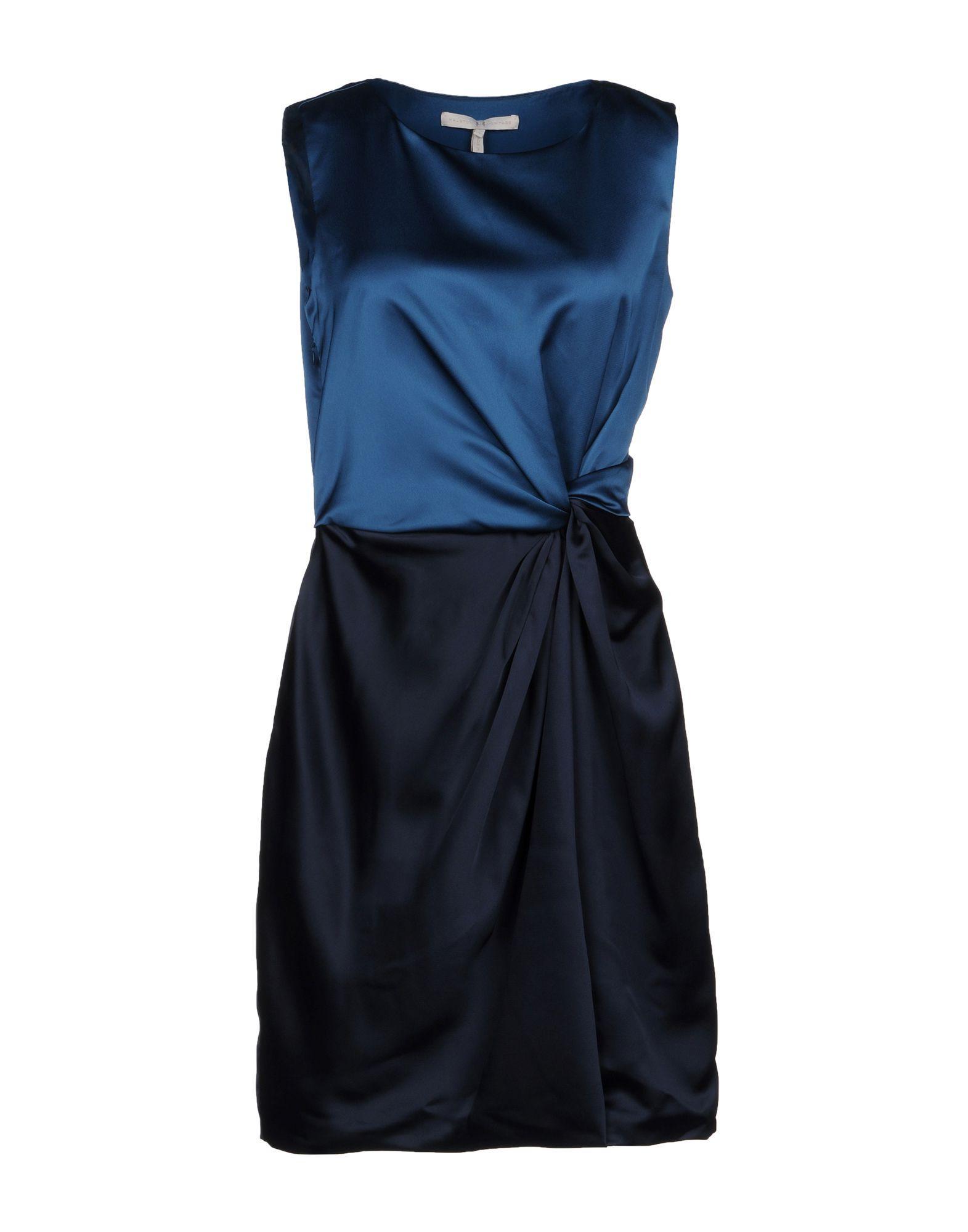 Halston Heritage Short Dress In Deep Jade