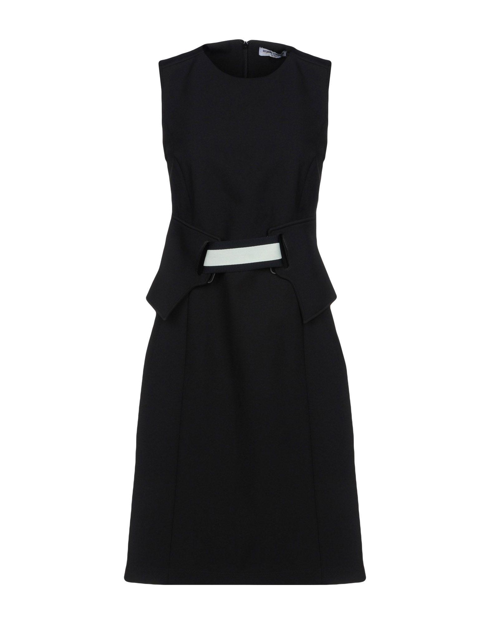 Opening Ceremony Short Dress In Black