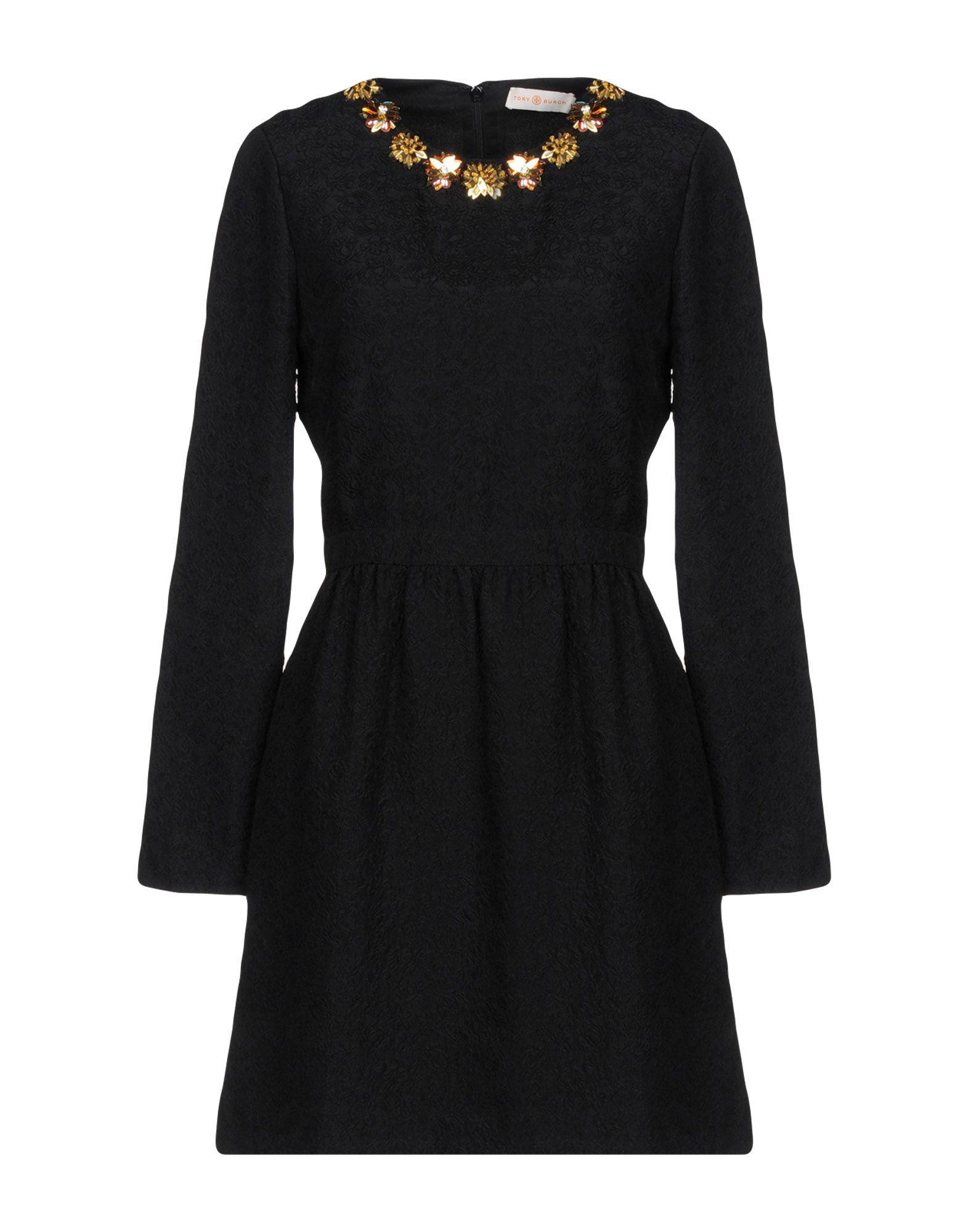 Tory Burch Short Dress In Black