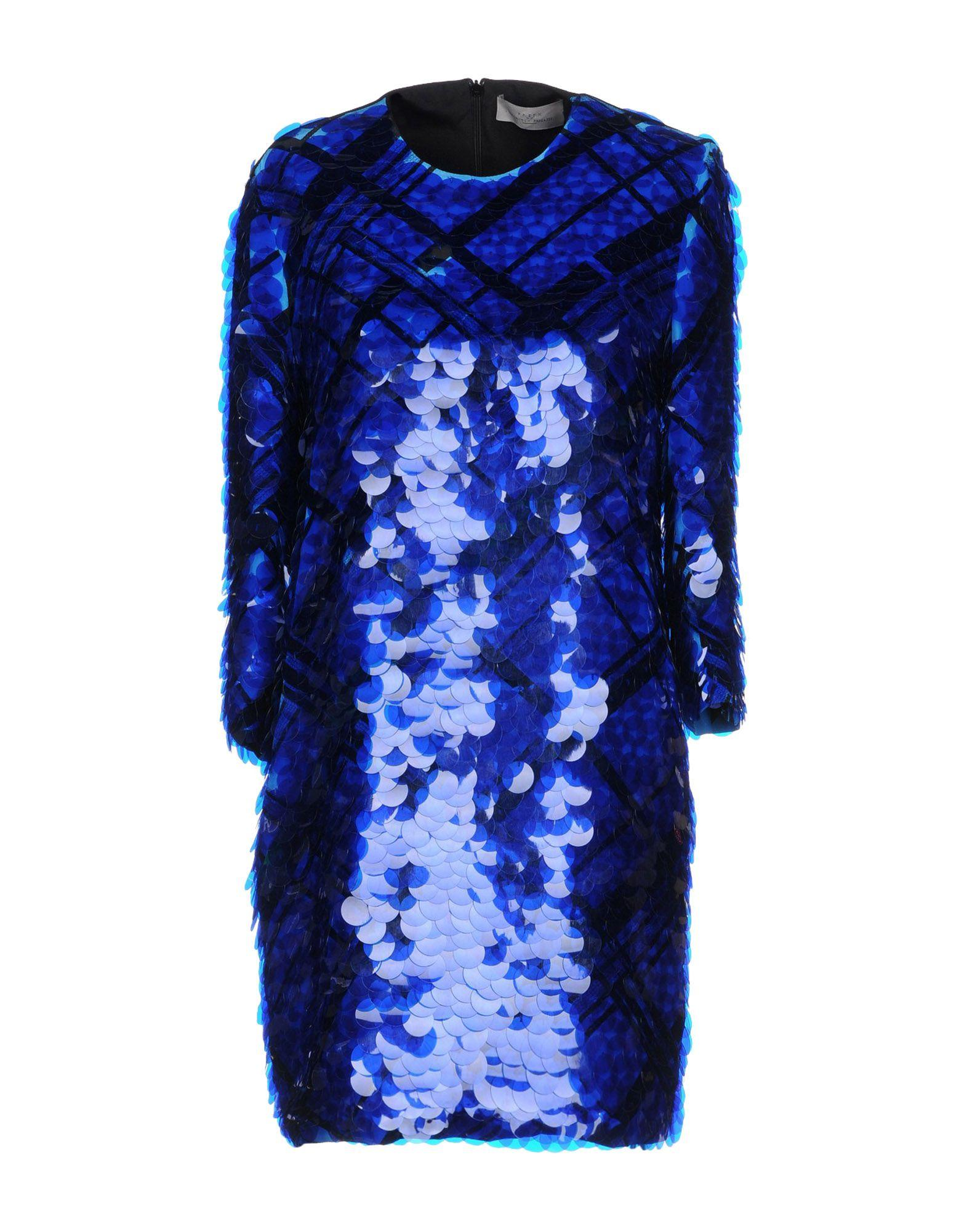 Preen By Thornton Bregazzi Short Dresses In Blue