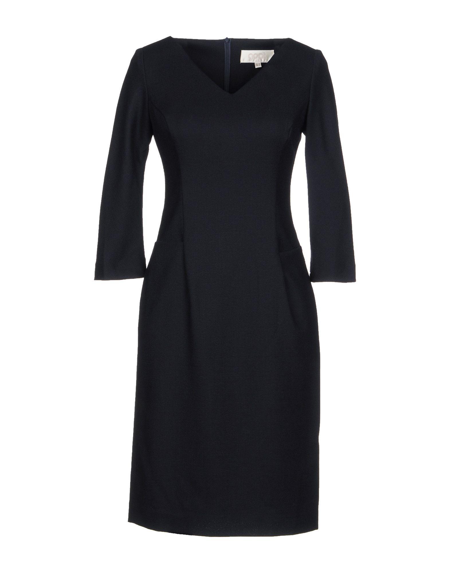 Goat Short Dresses In Dark Blue