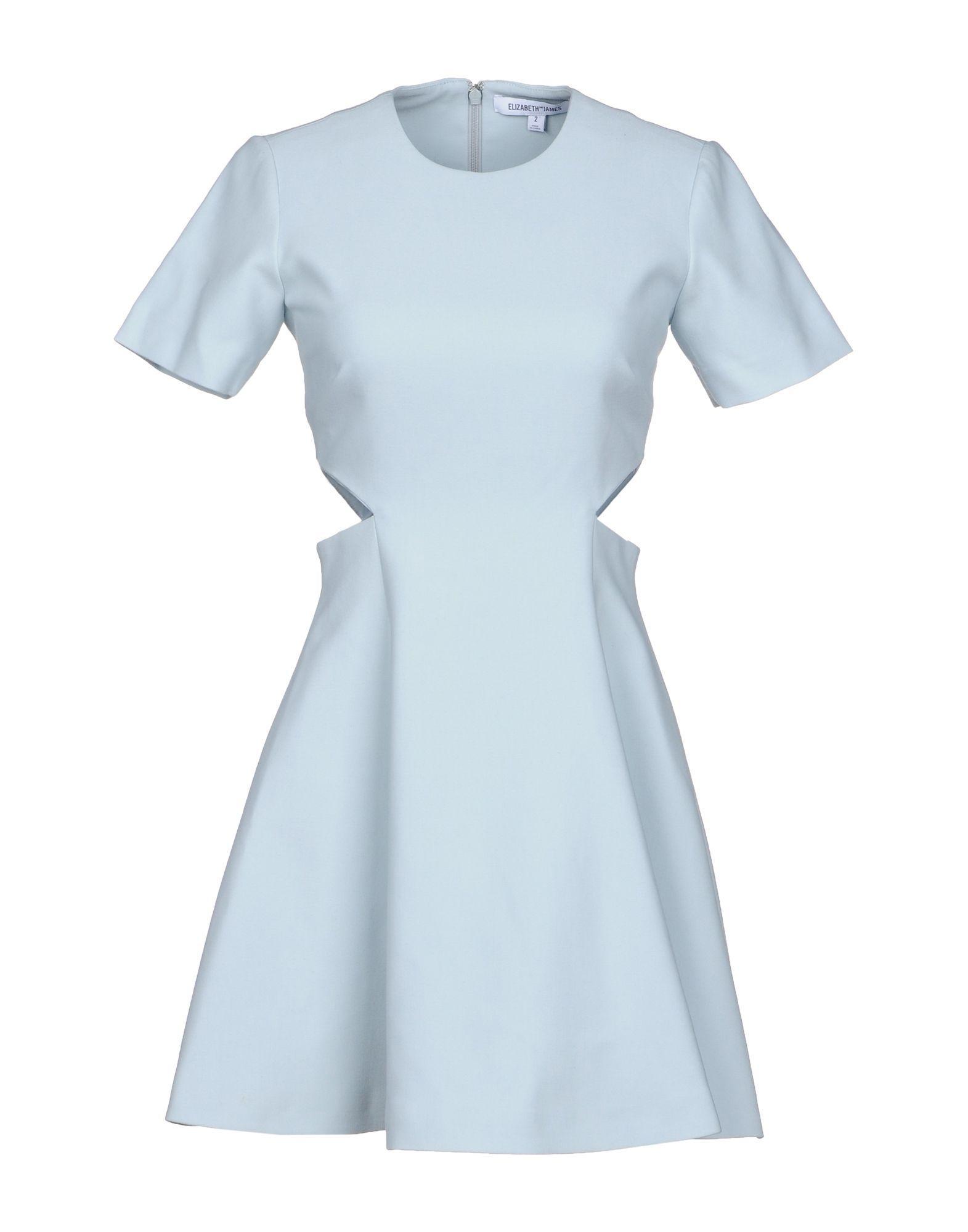 Elizabeth And James Short Dresses In Sky Blue