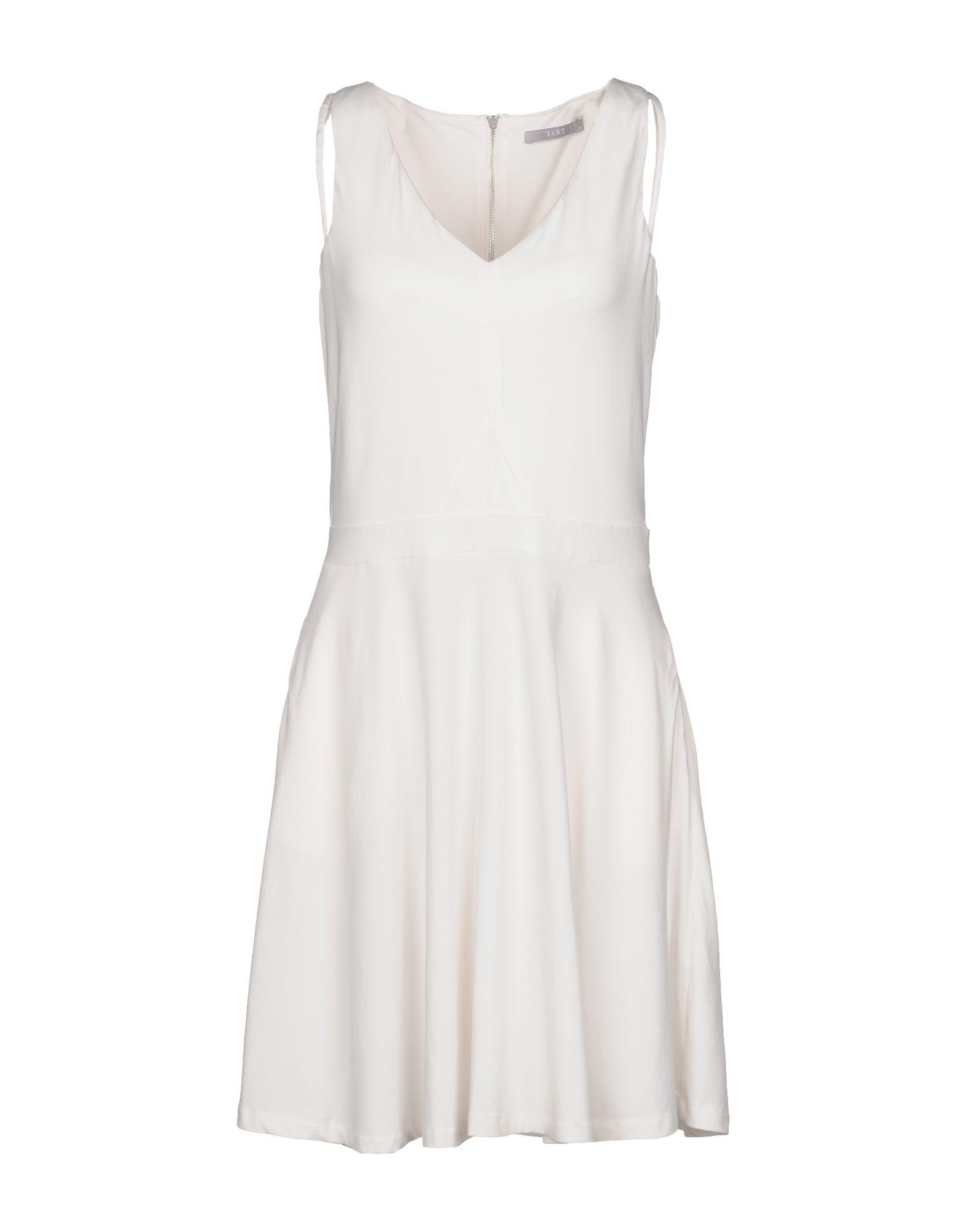 Tart Collections Short Dresses In Ivory