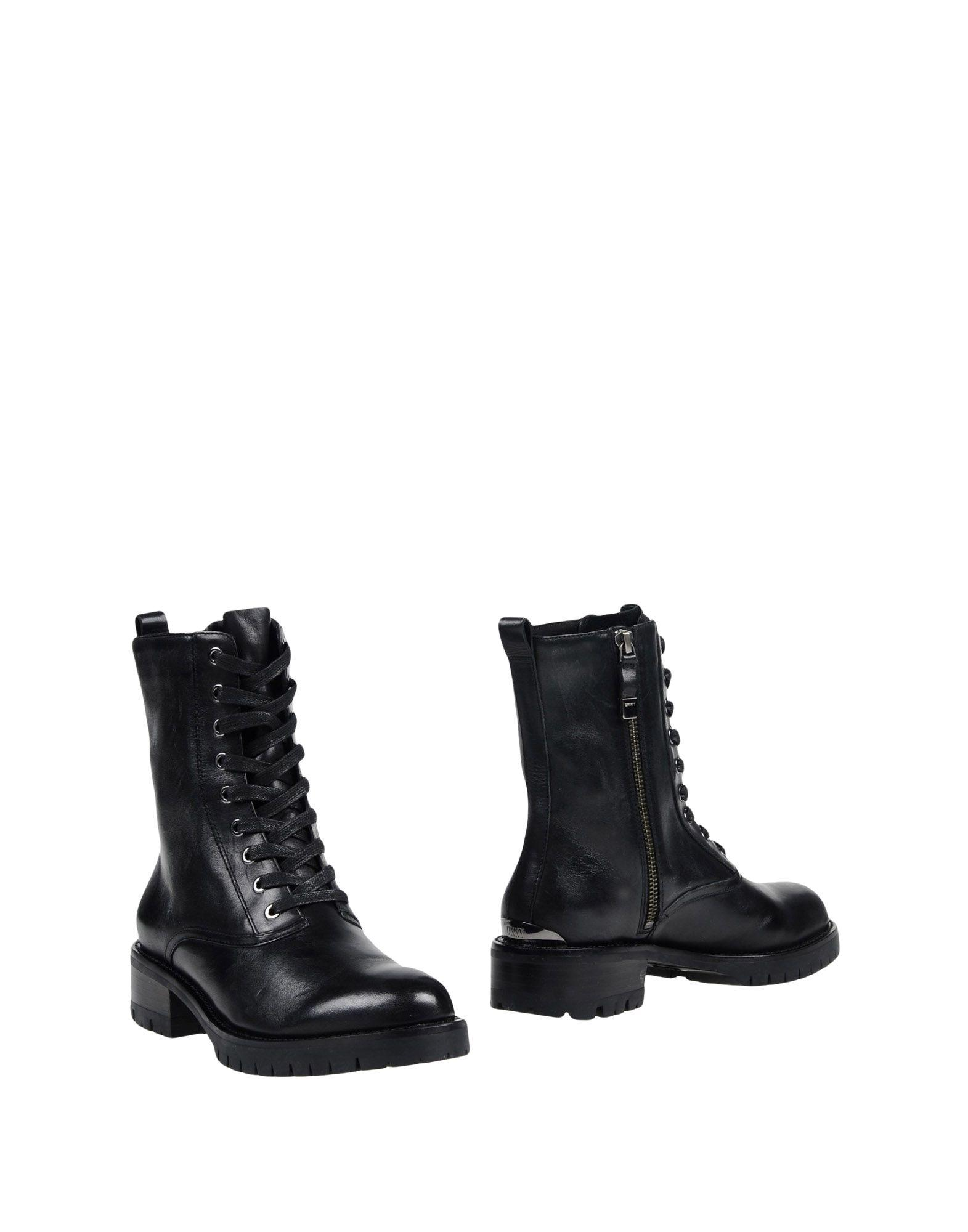 Dkny Ankle Boot In Black