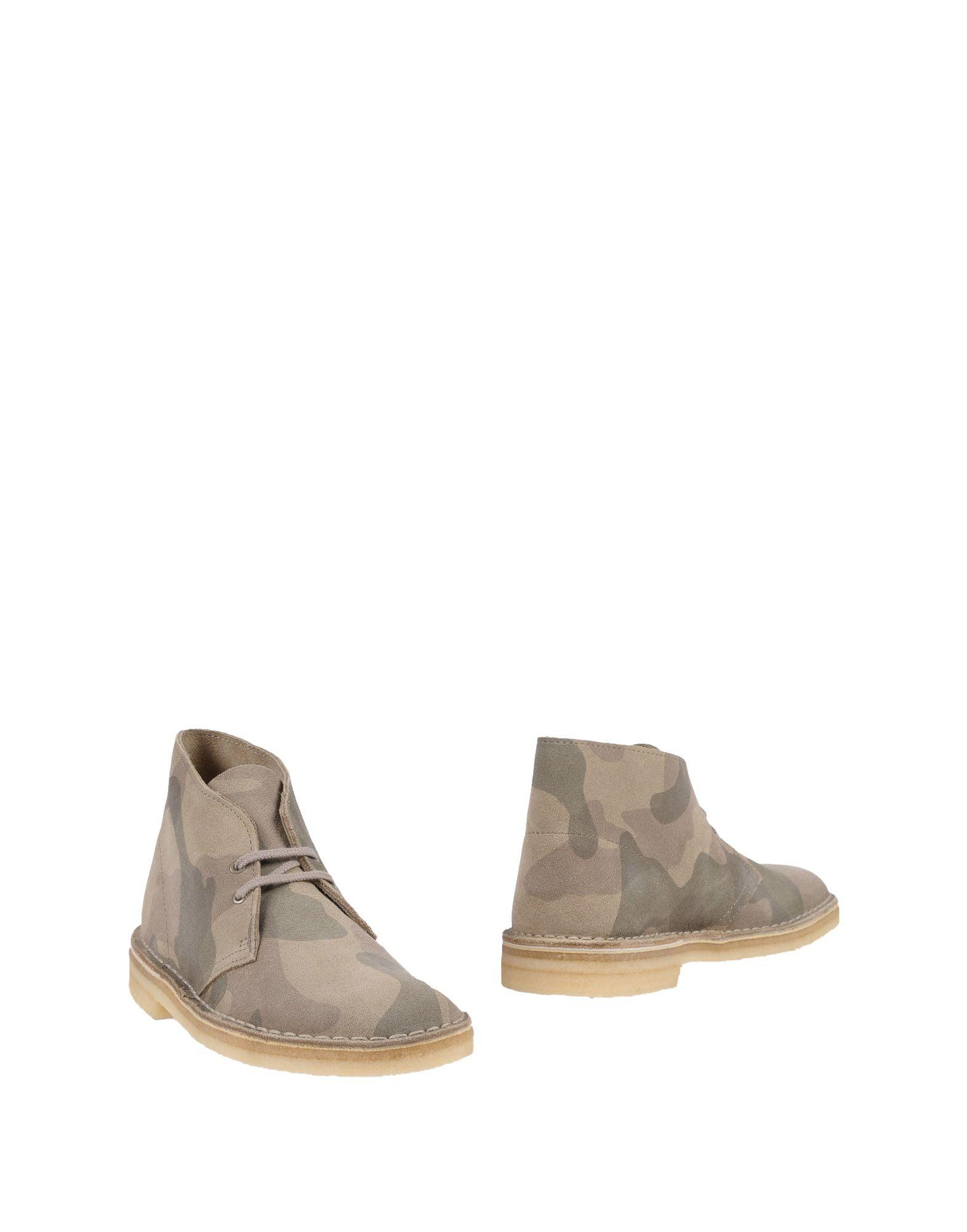 Clarks Originals Ankle Boots In Dove Grey