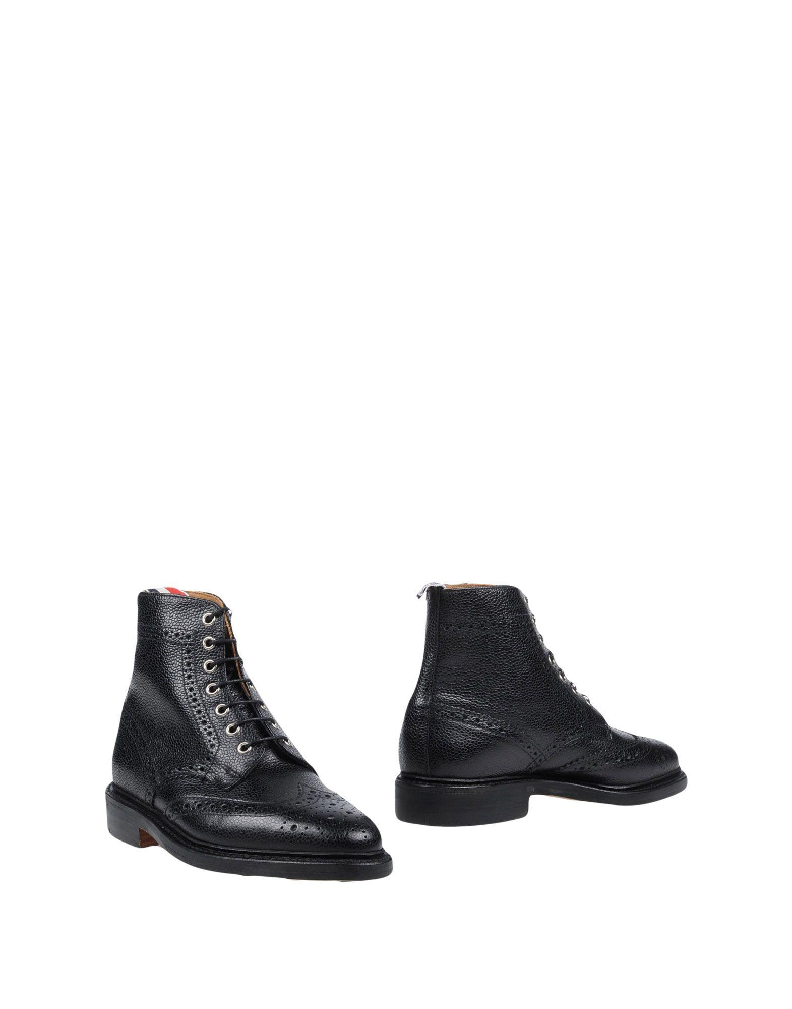 Thom Browne Boots In Black
