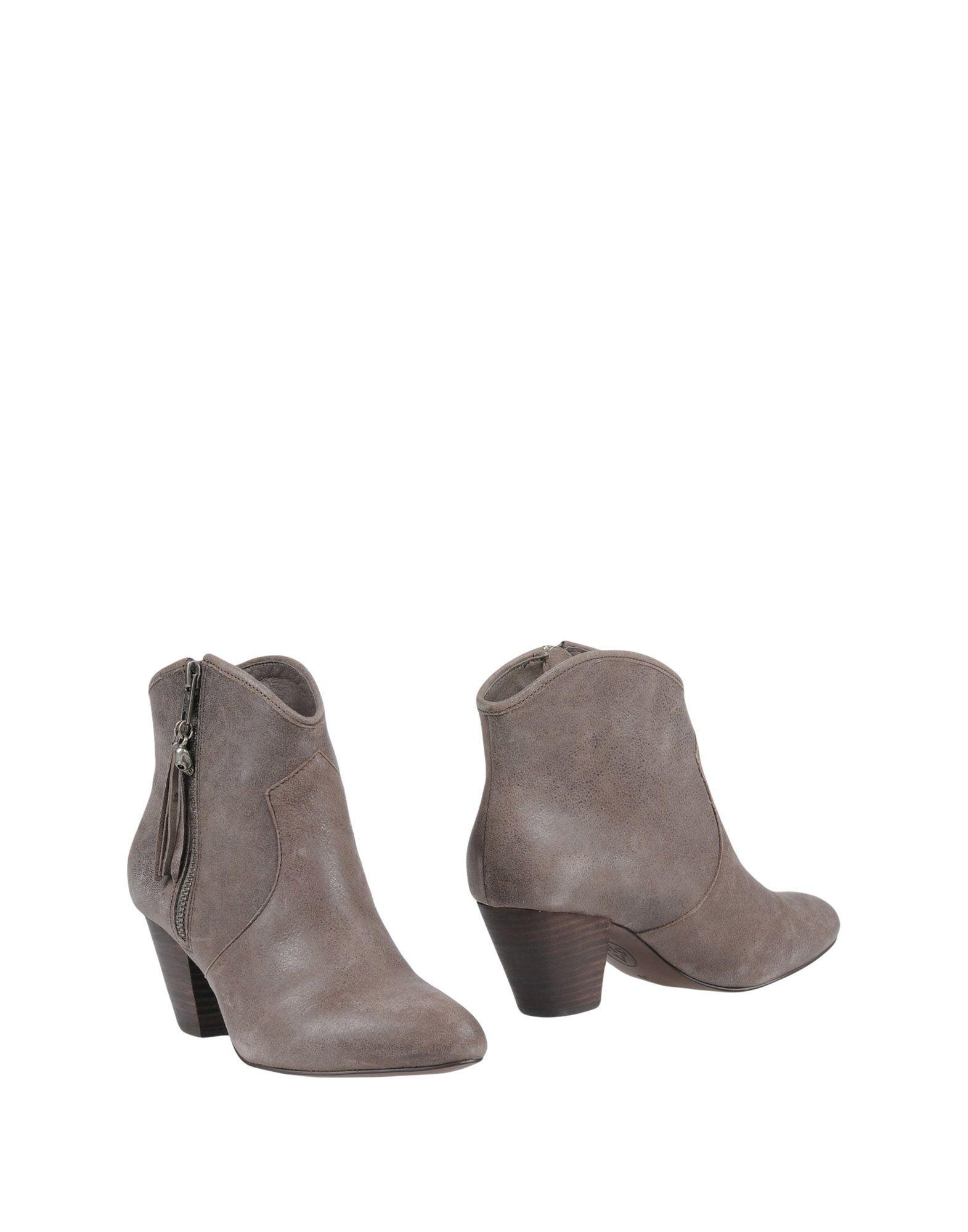 Ash Ankle Boot In Lead