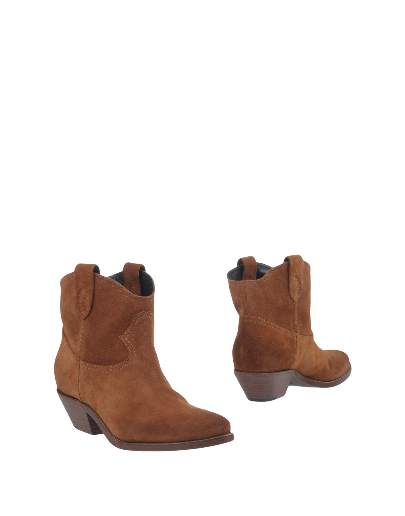 Semicouture Ankle Boot In Camel
