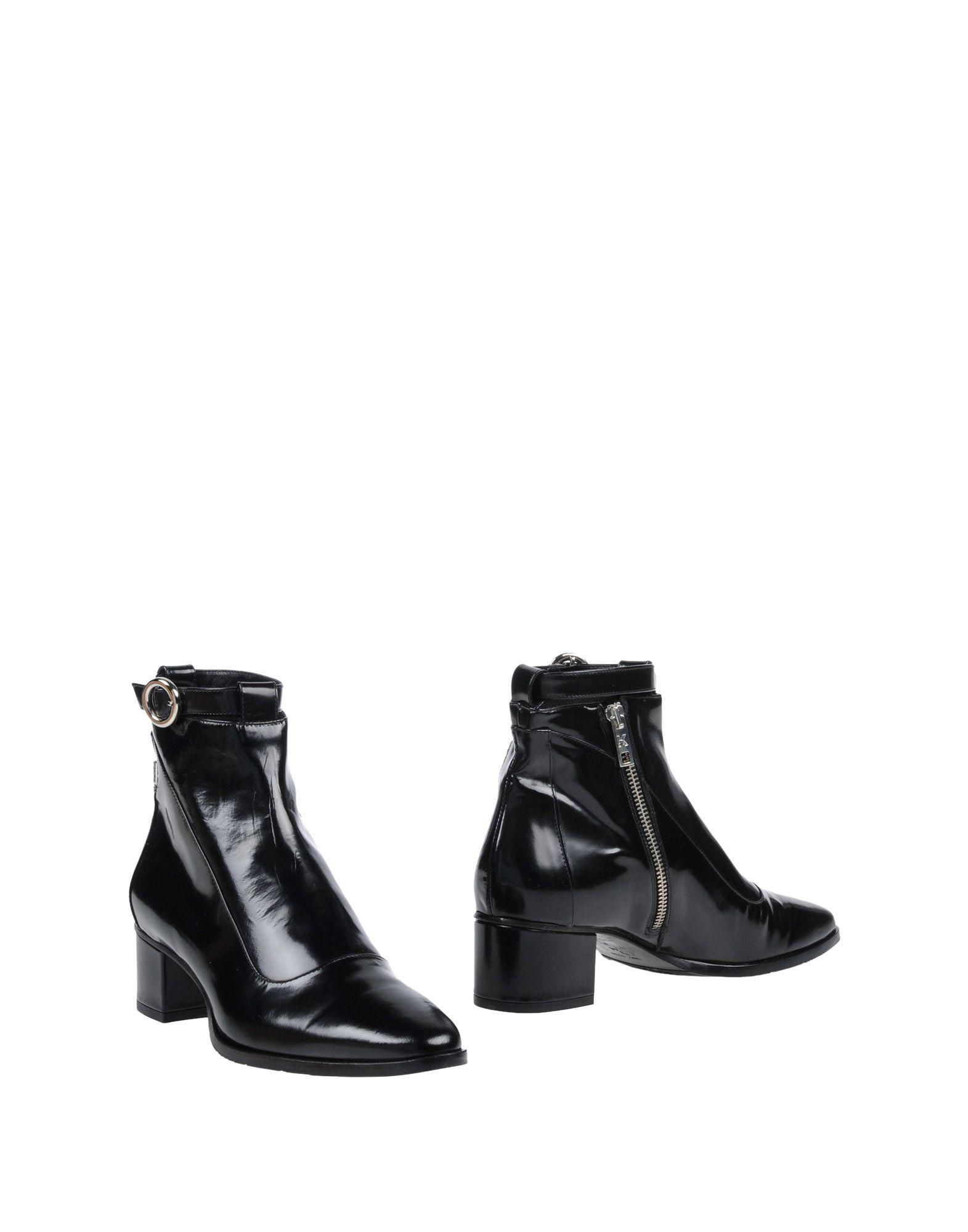 Karl Lagerfeld Ankle Boots In Black