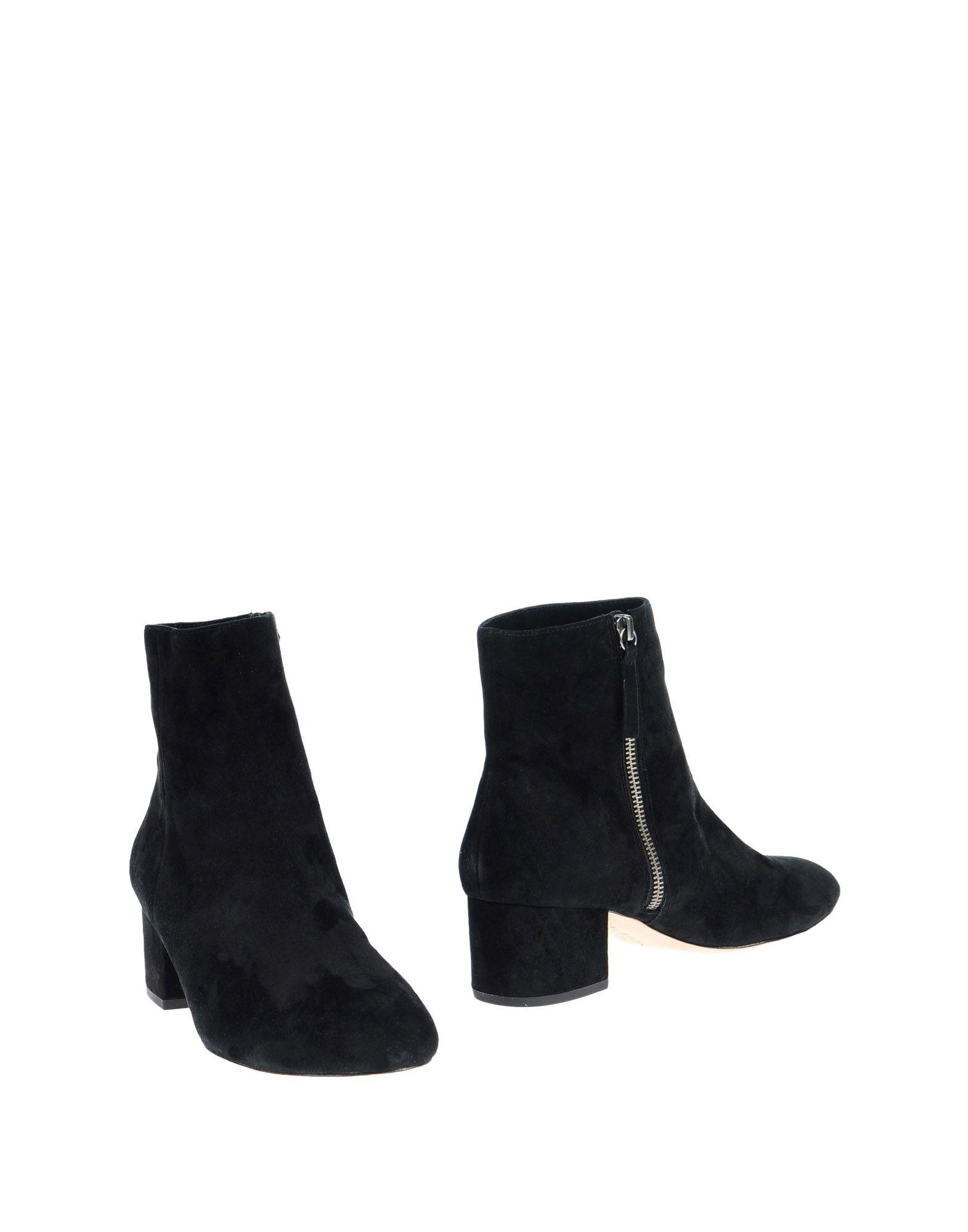 Halston Heritage Ankle Boots In Black
